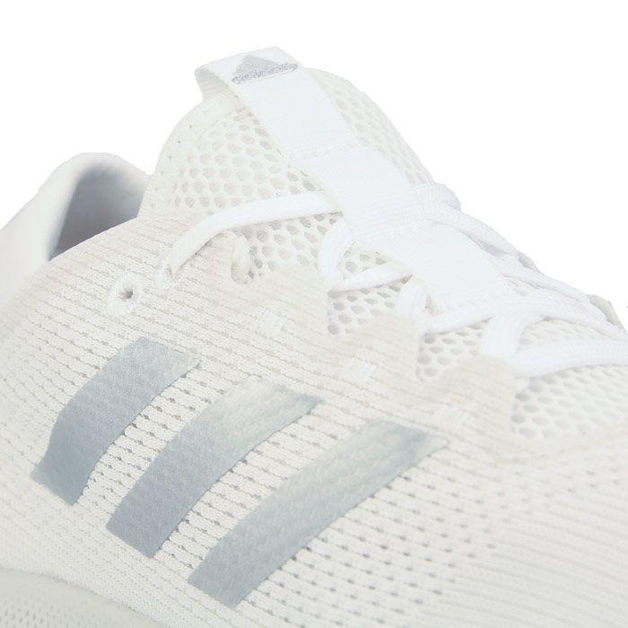 Women's adidas Edge Flex Running Shoes in White silver