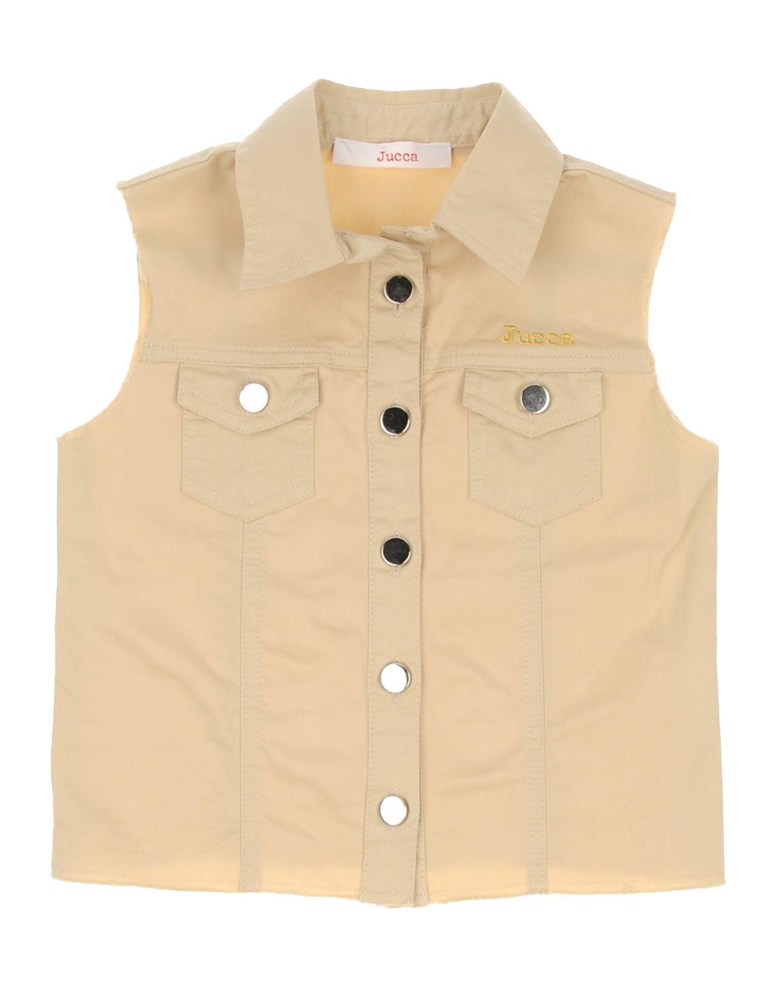 Jucca Beige Girl Cotton Jacket