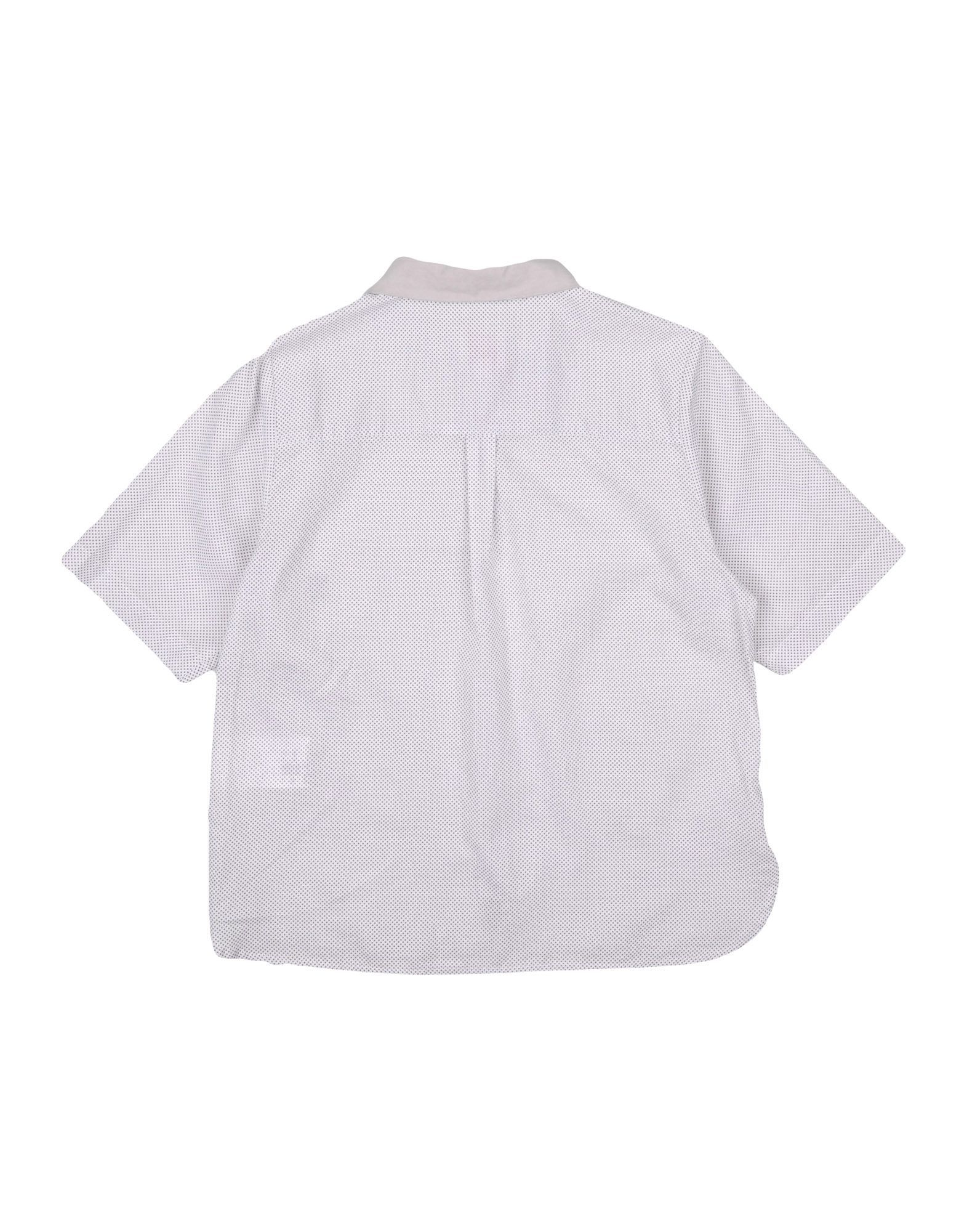 Mauro Grifoni Grey Cotton Shirt