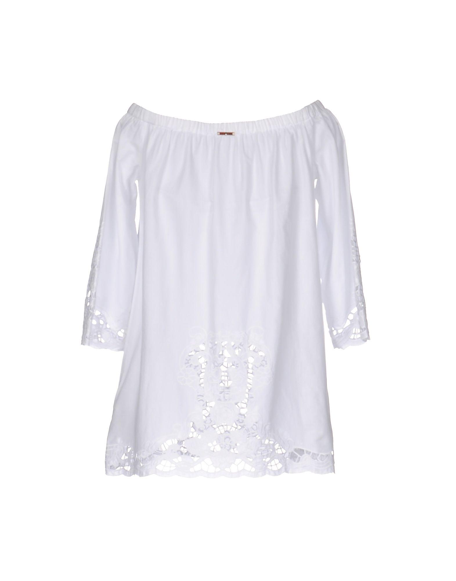 Liu Jo White Cotton Blouse