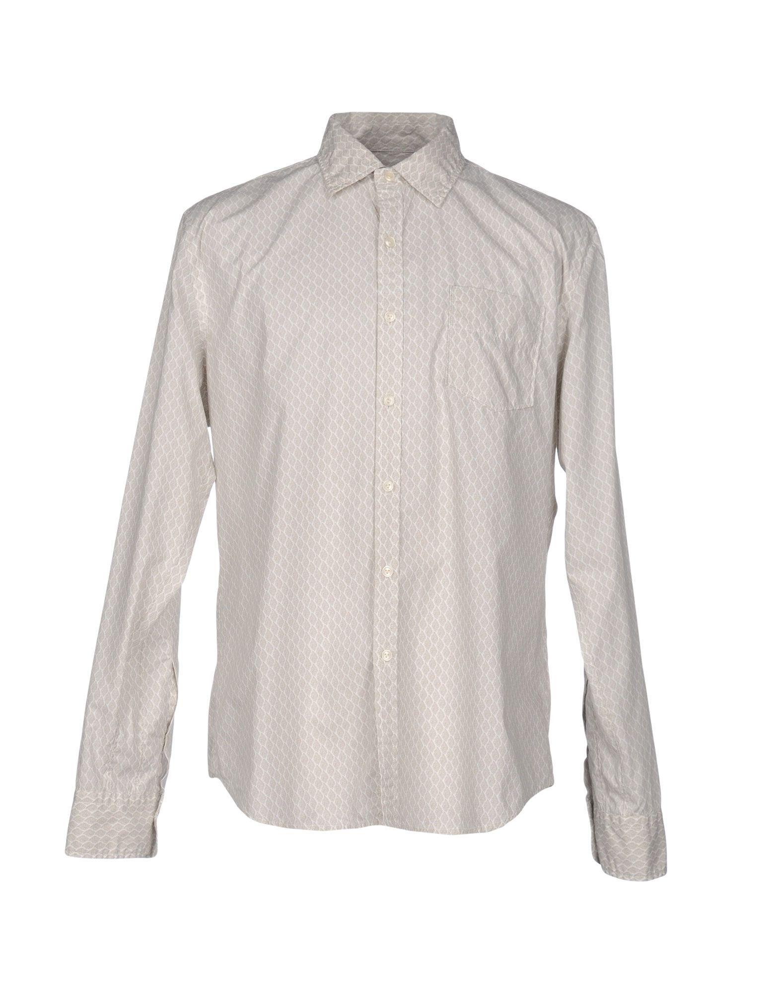 SHIRTS Vintage 55 Beige Man Cotton