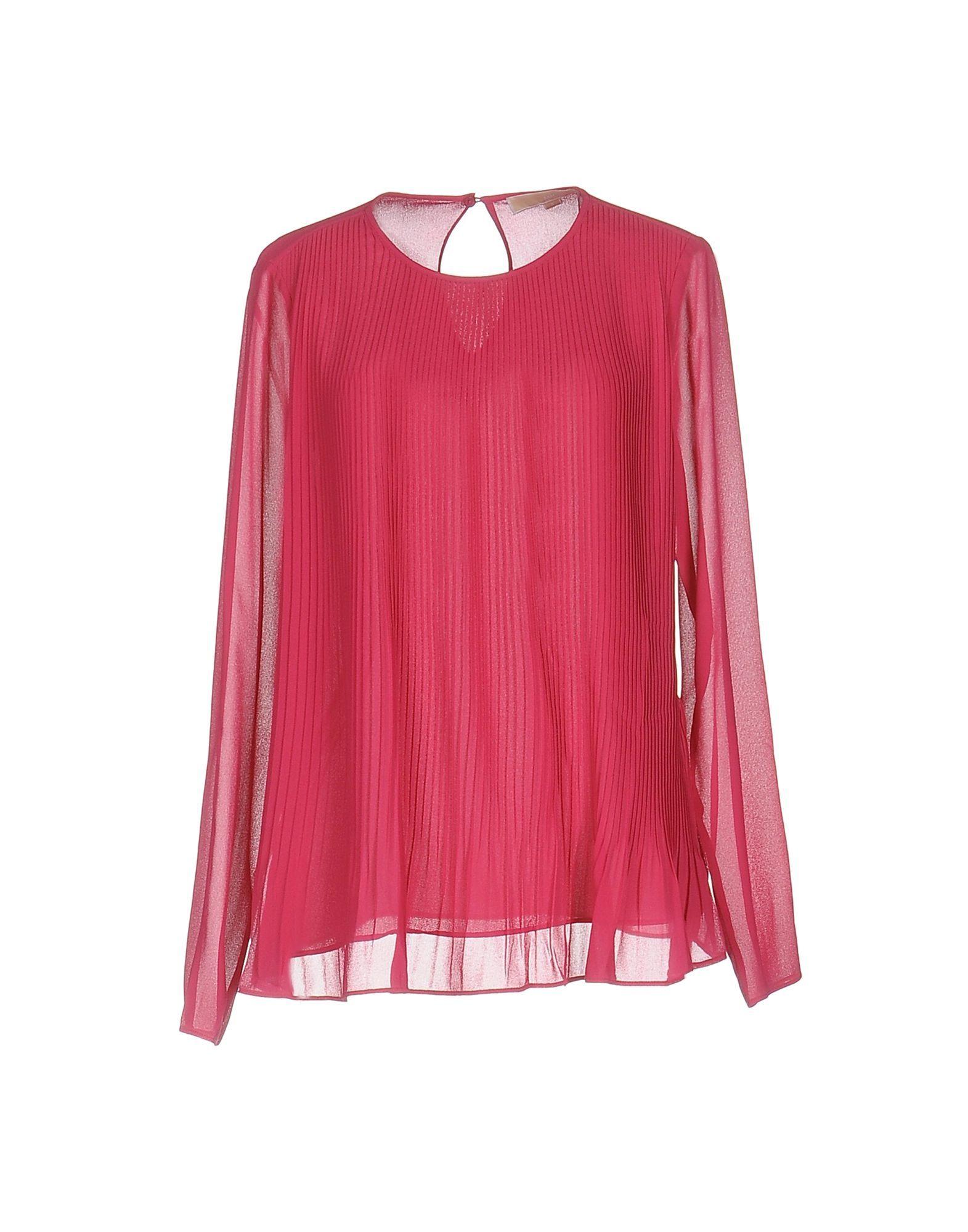 Shirts Michael Michael Kors Fuchsia Women's Polyester