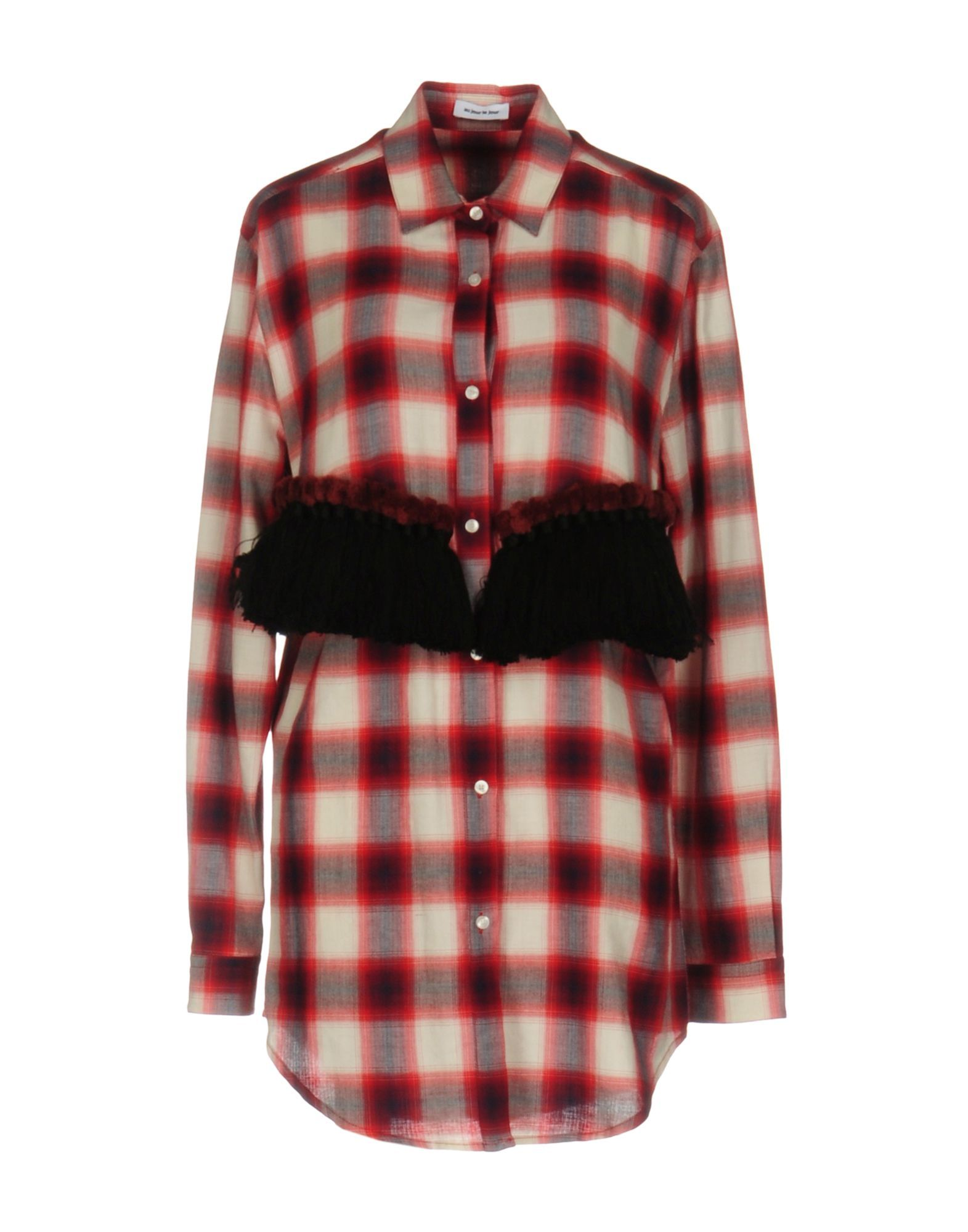 Shirts Au Jour Le Jour Red Women's Viscose