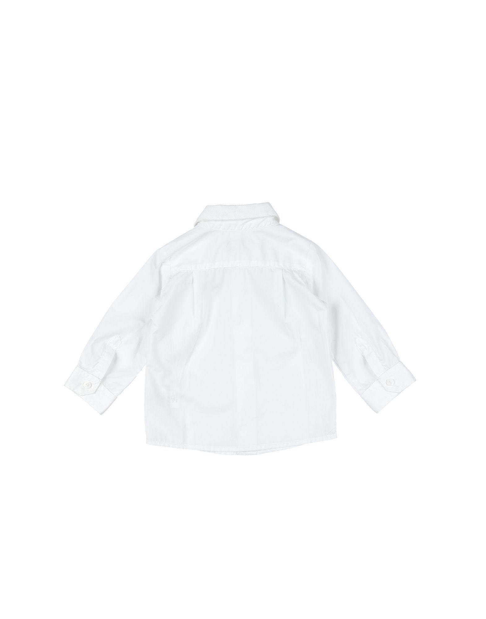 SHIRTS Simonetta Tiny White Boy Cotton
