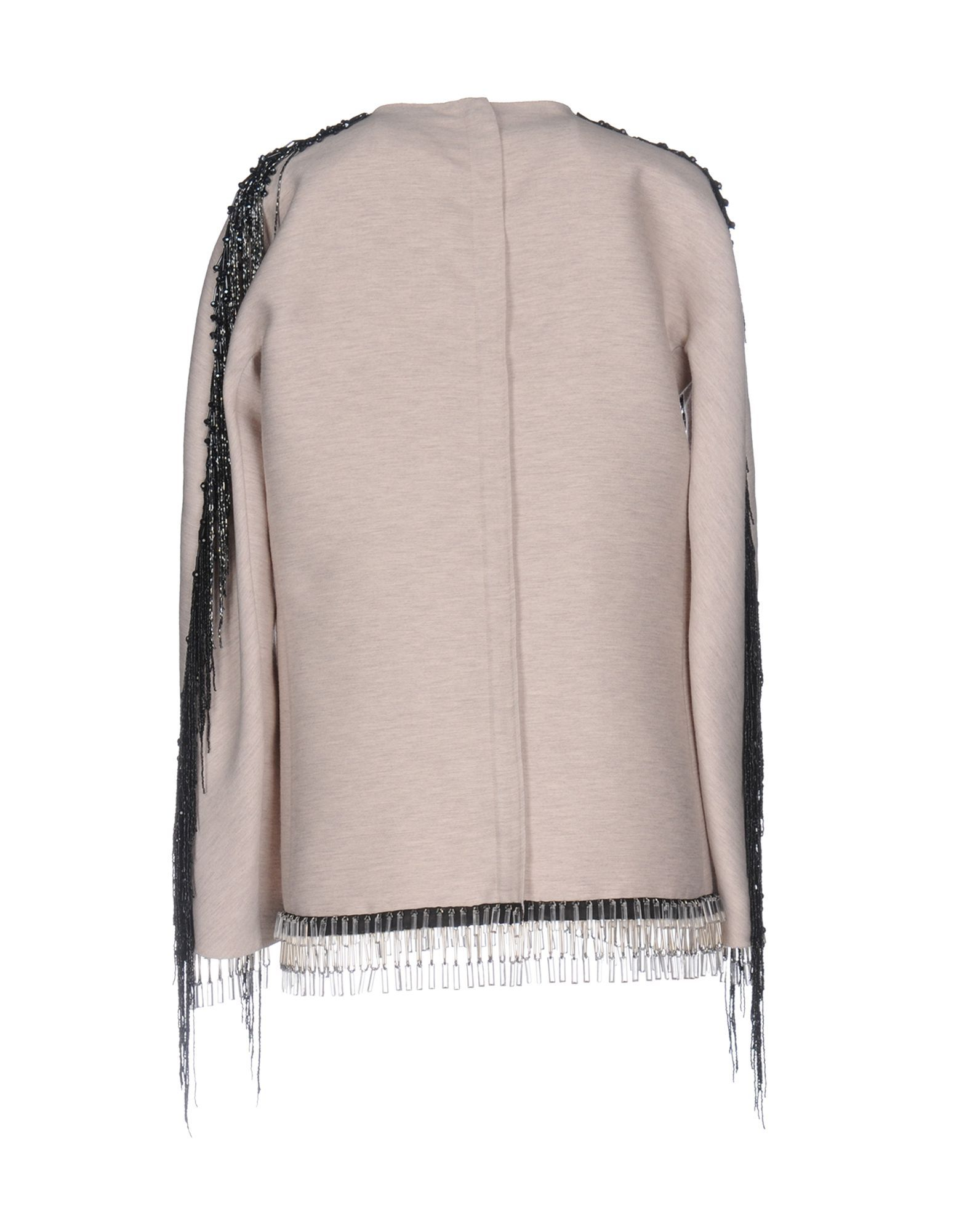 Lanvin Beige Wool Beaded Blouse