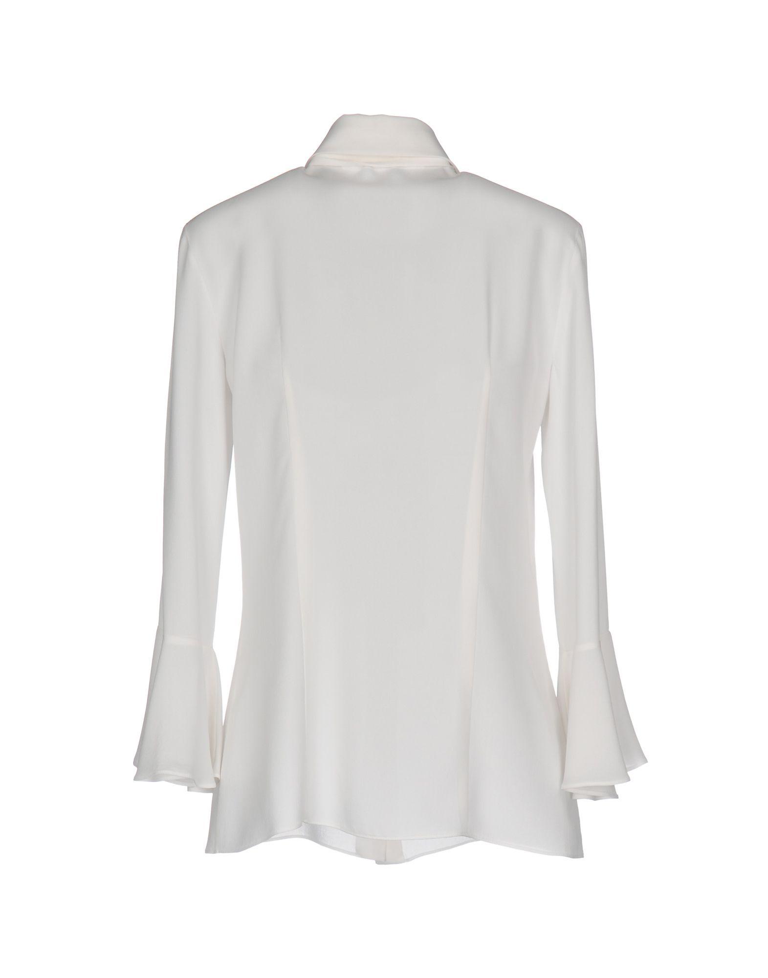 Shirts Michael Kors Collection Ivory Women's Silk
