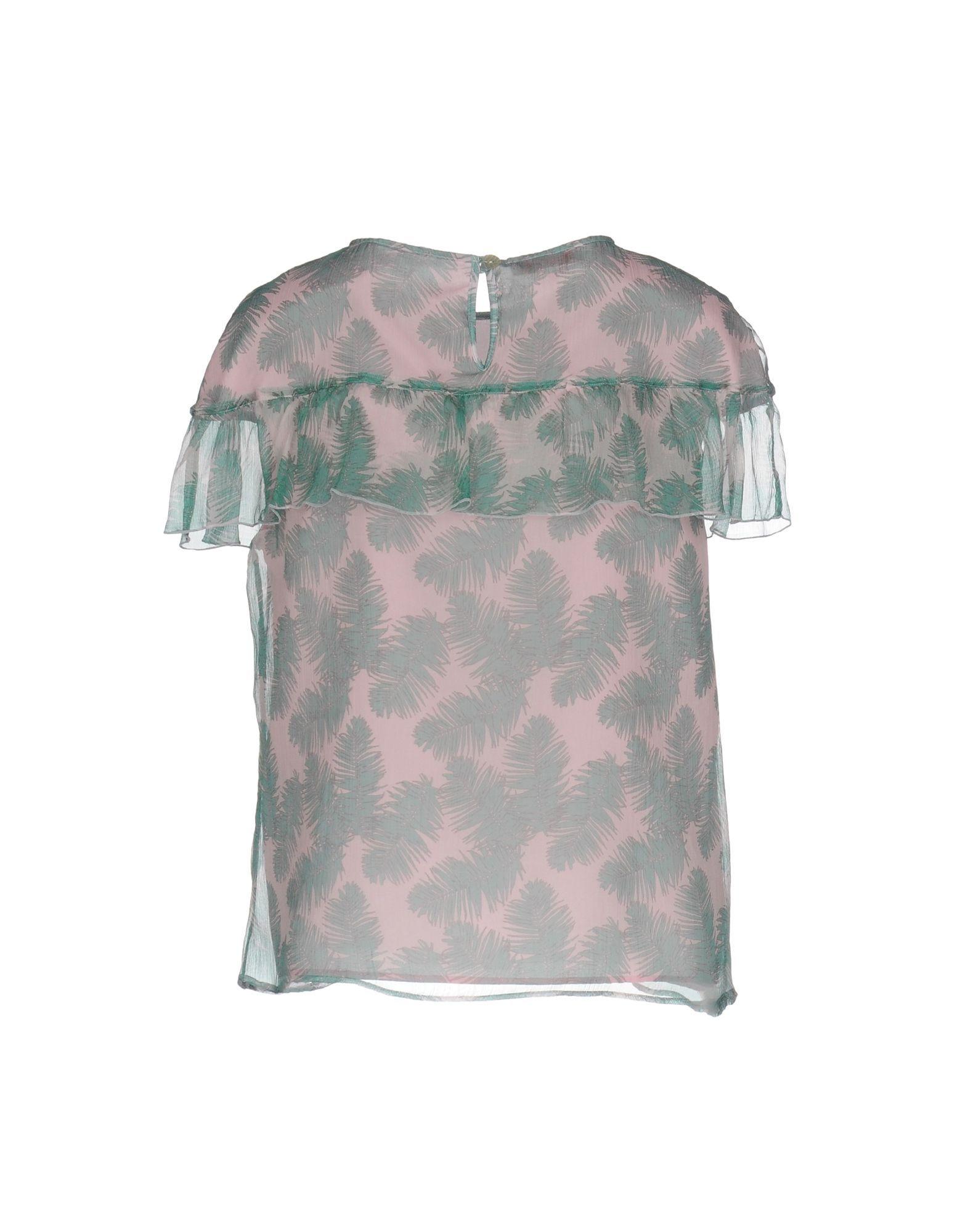 SHIRTS Blugirl Blumarine Pink Woman Silk