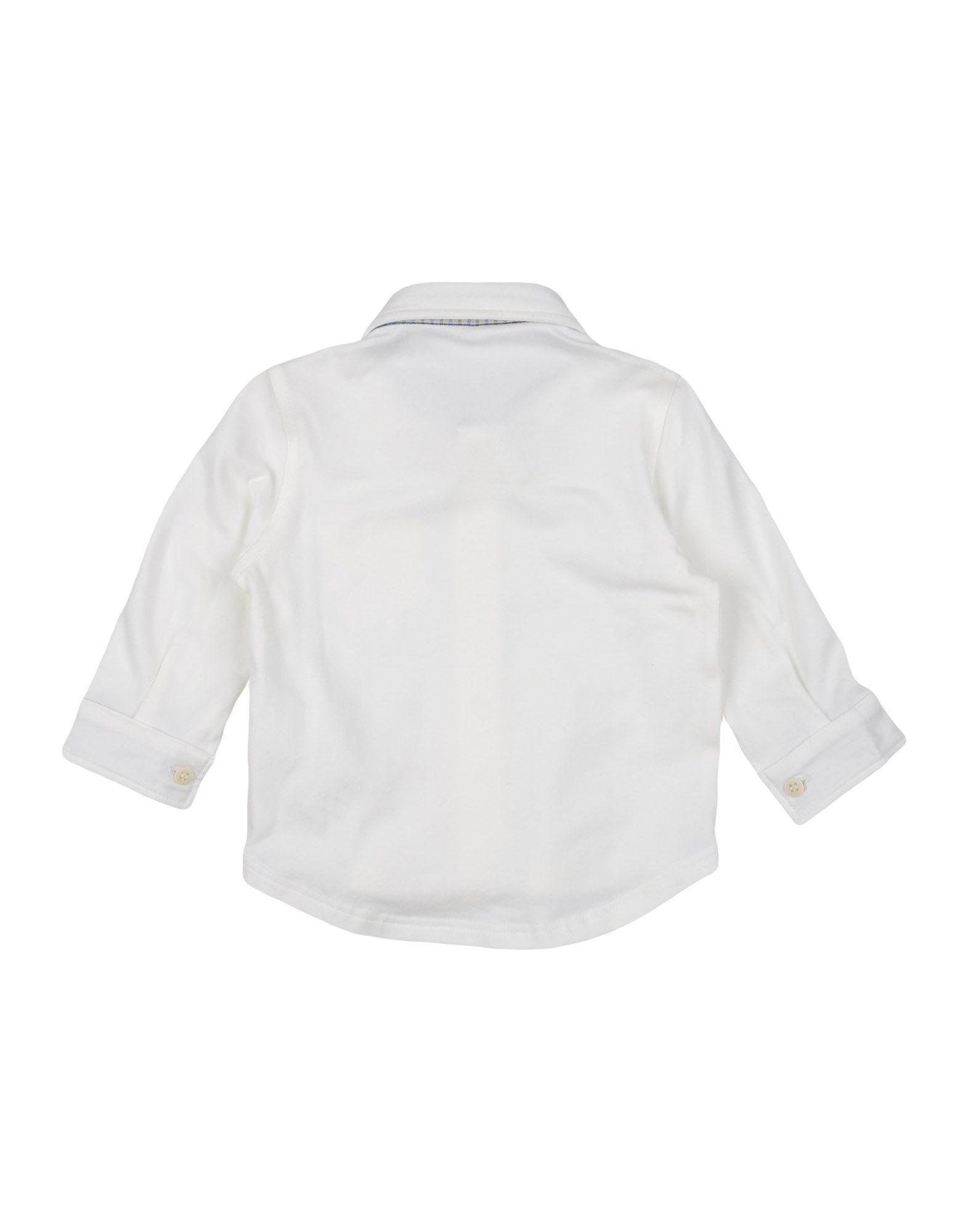 SHIRTS Il Gufo White Boy Cotton