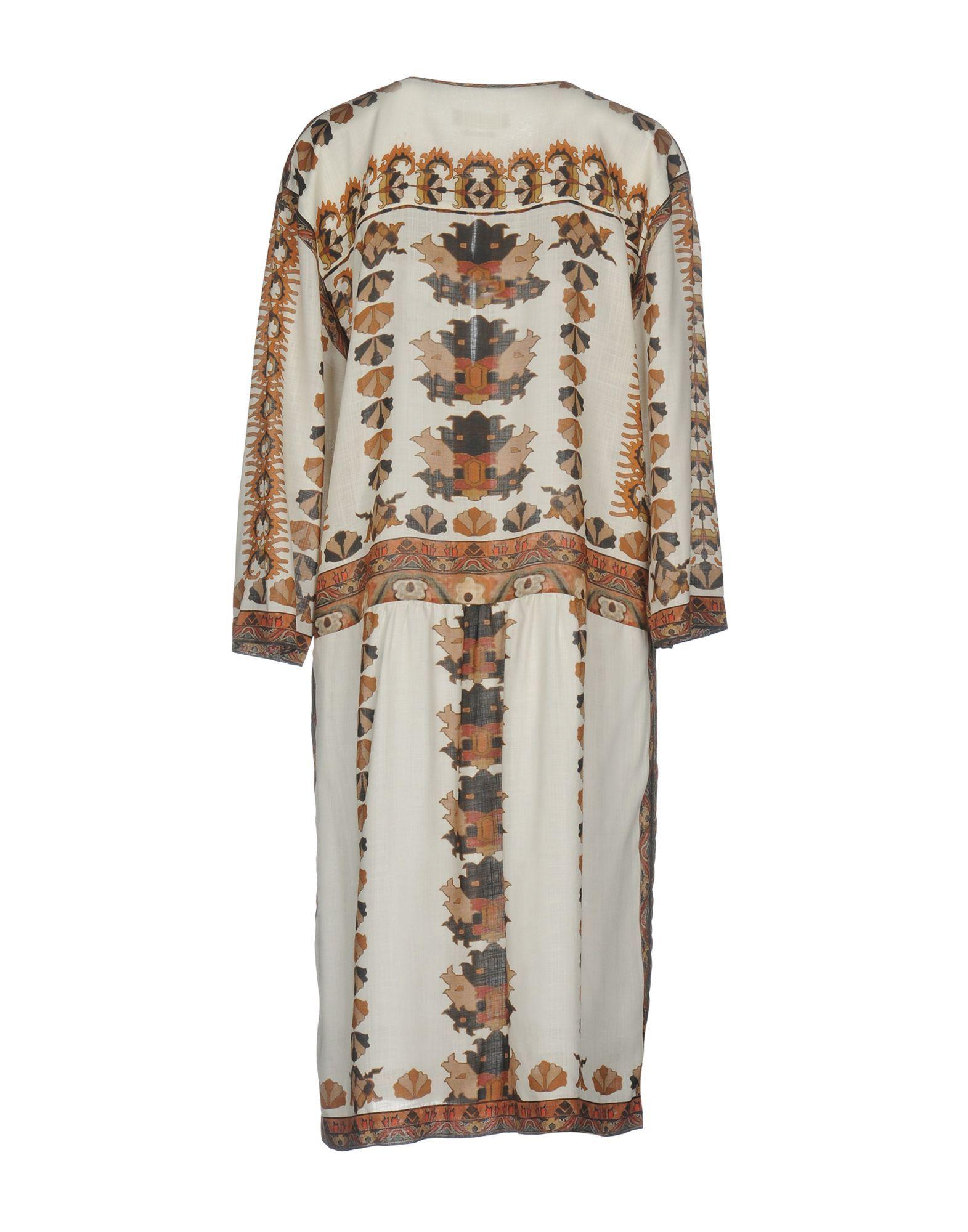 Isabel Marant Ivory Modal Shirt Dress