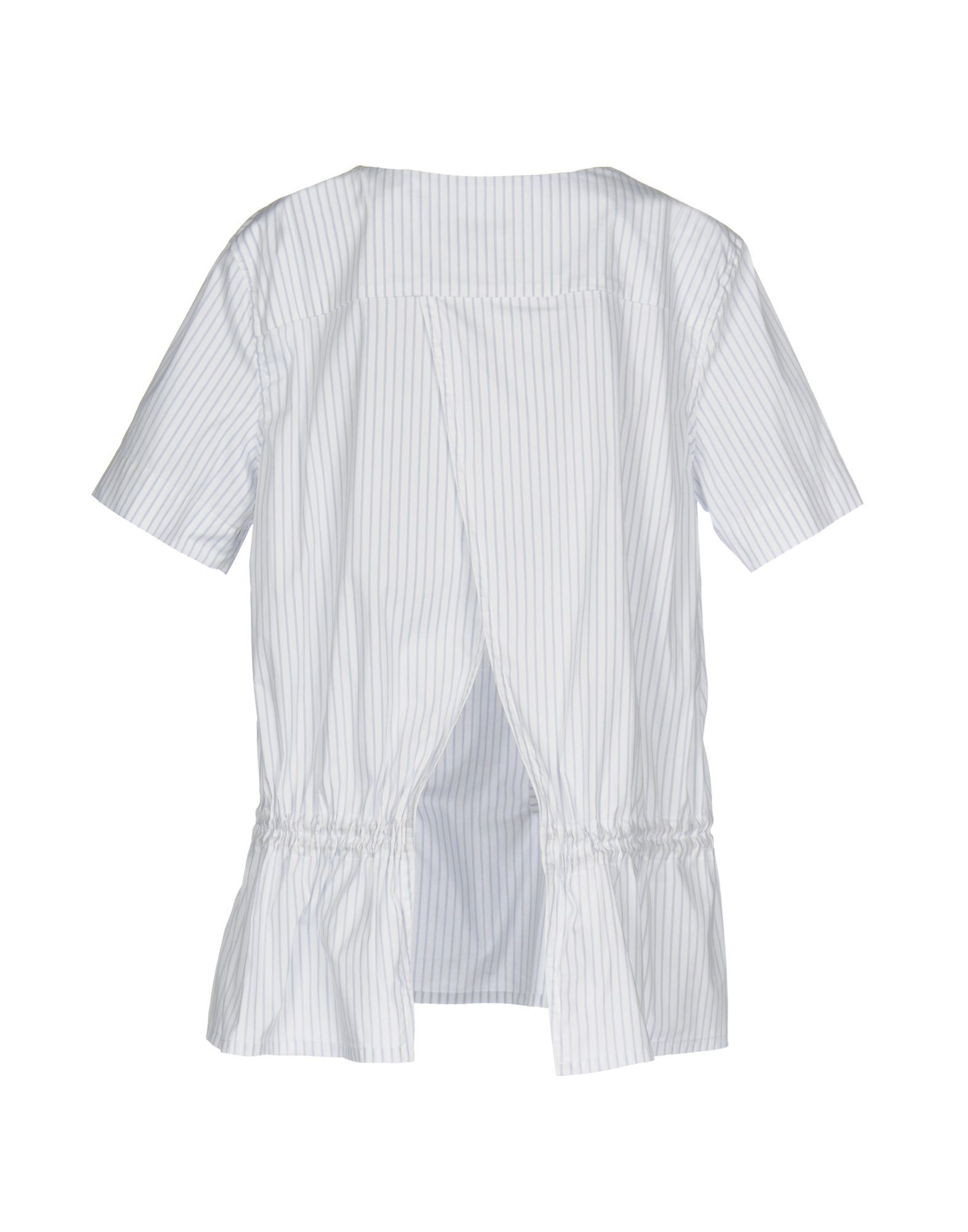 SHIRTS Malo White Woman Cotton