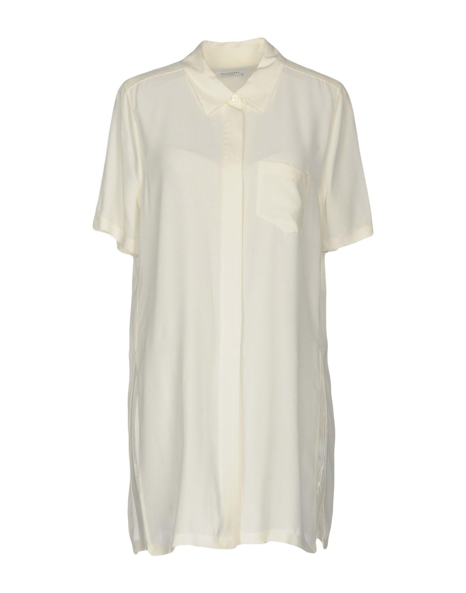 Equipment Ivory Silk Shirt