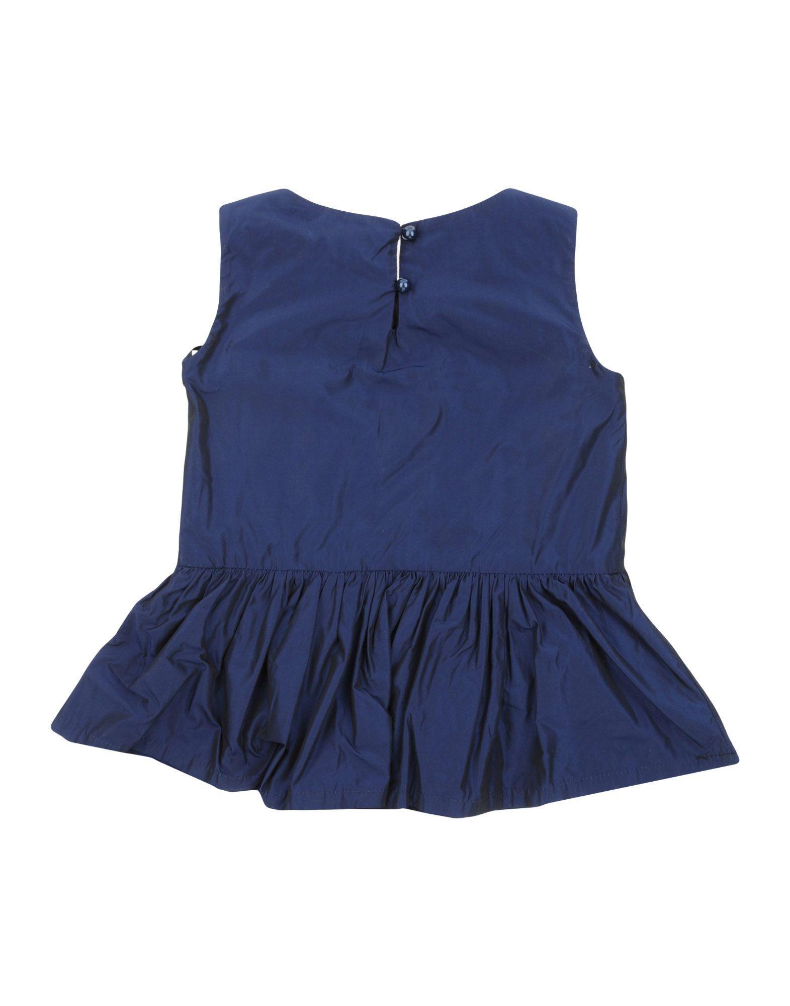 SHIRTS Girl L:Ú L:Ú By Miss Grant Dark blue Polyester