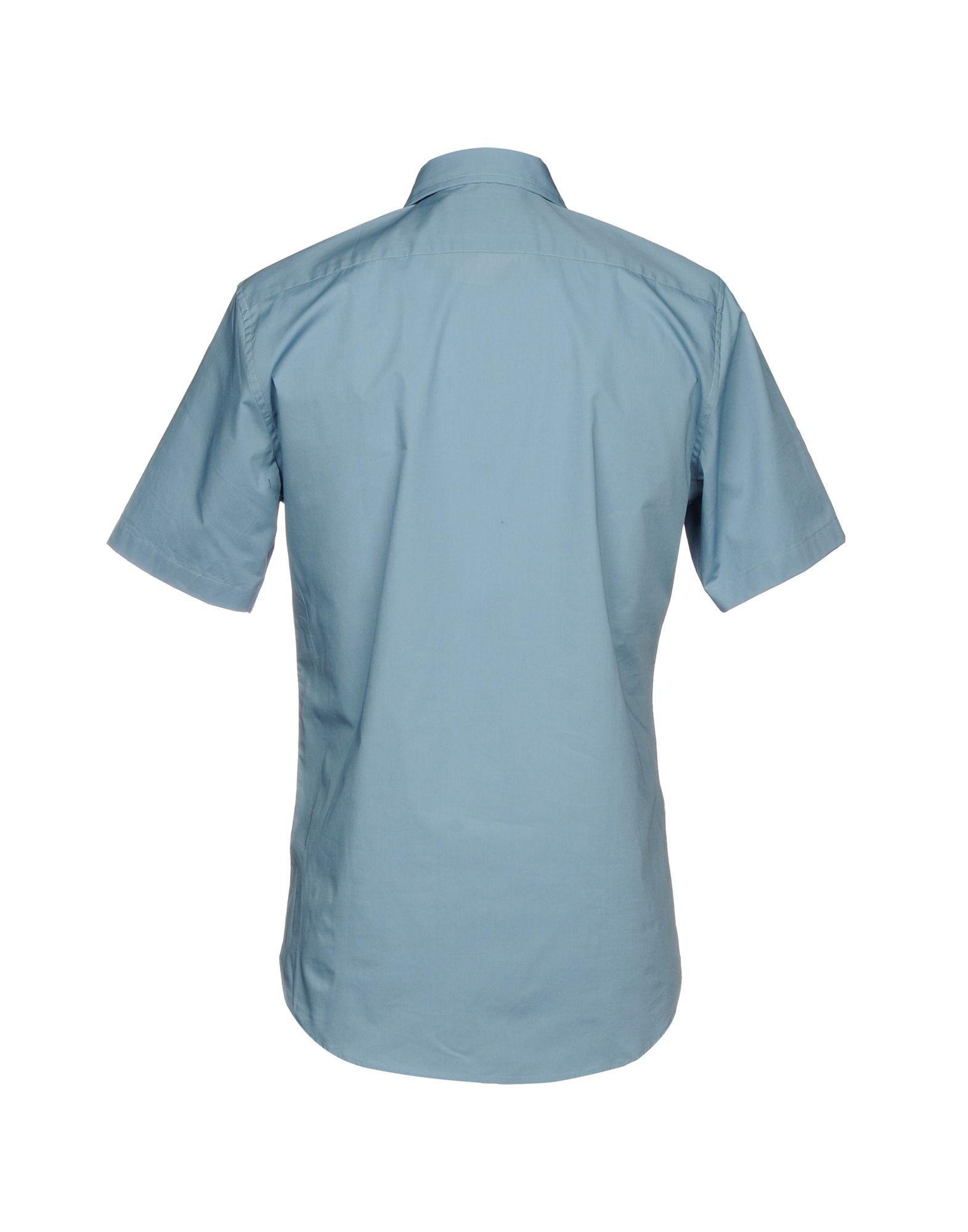 SHIRTS Vivienne Westwood Man Slate blue Man Cotton