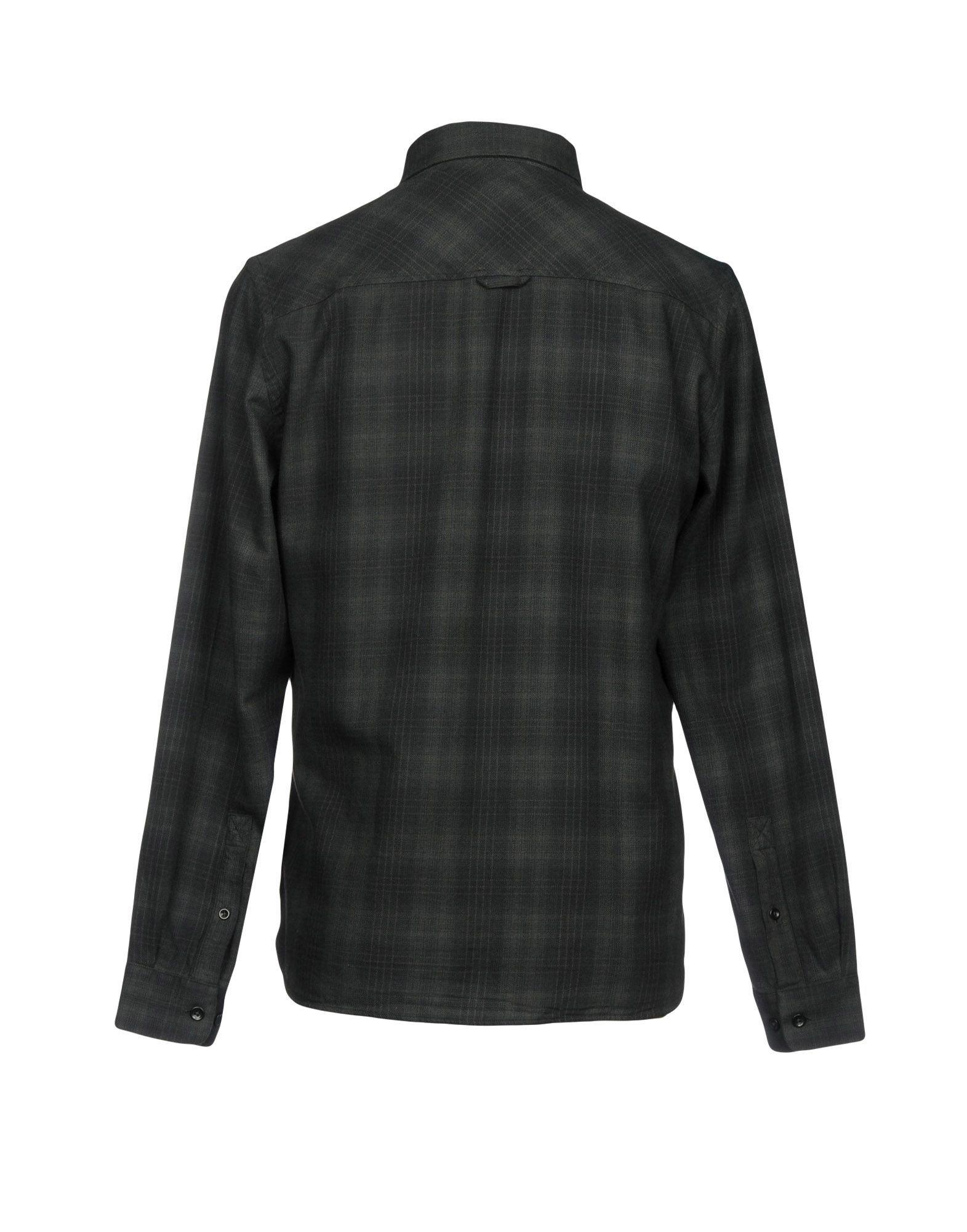 Whistles Dark Green Plaid Cotton Shirt