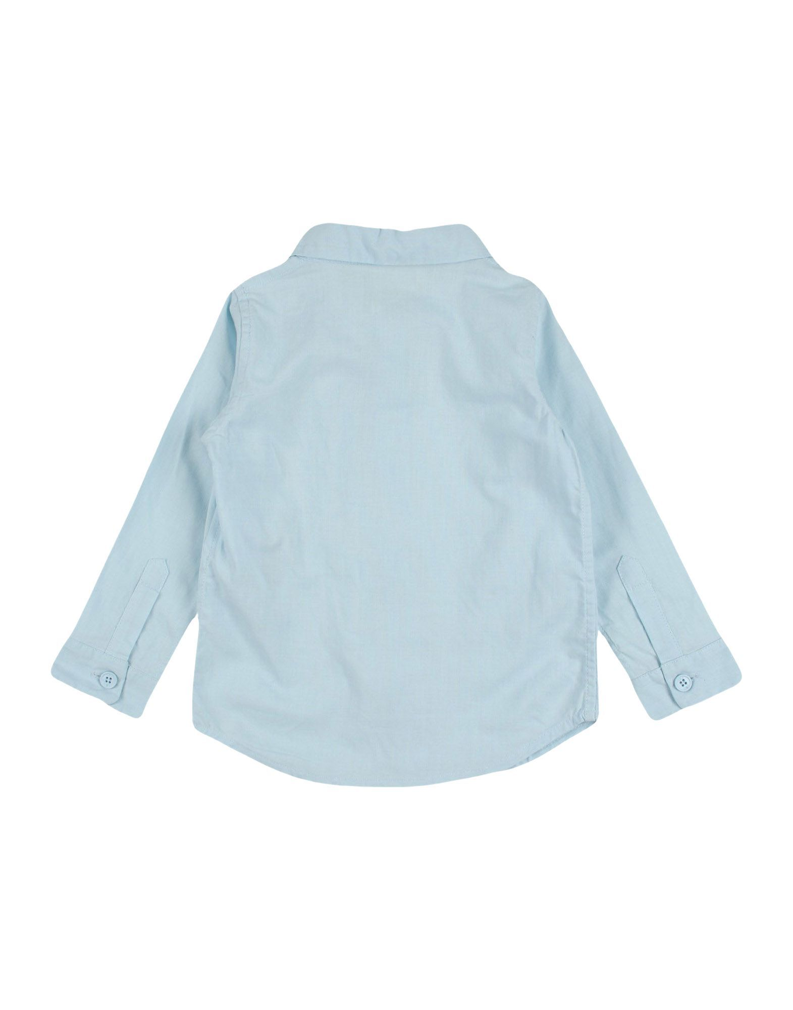 SHIRTS Douuod Sky blue Boy Cotton