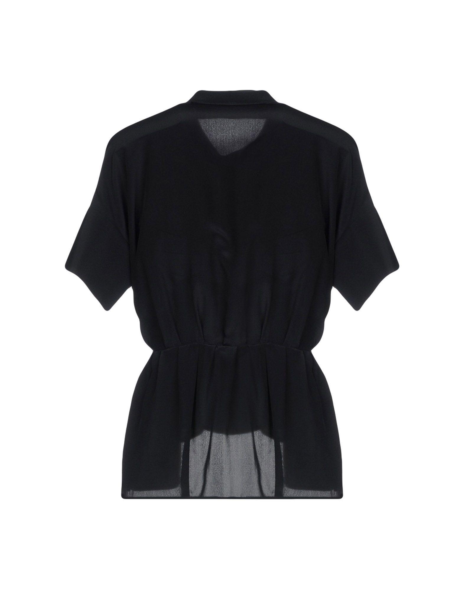 Victoria Beckham Black Silk Blouse