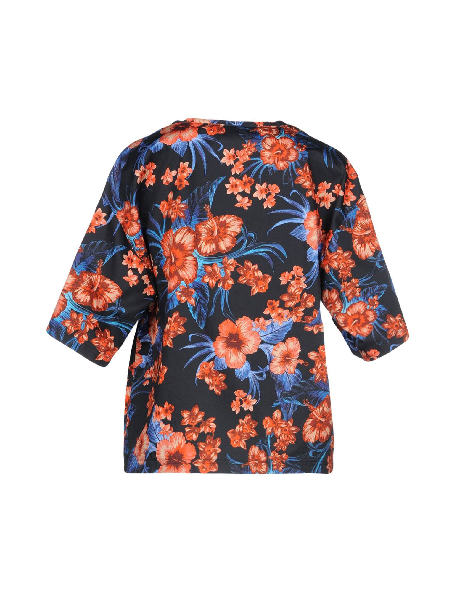 SHIRTS Fausto Puglisi Red Woman Cotton