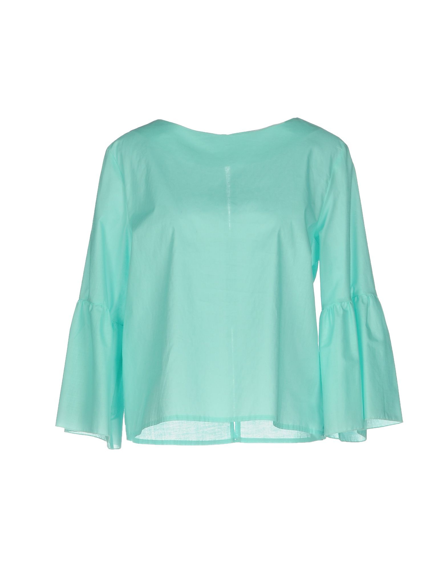 SHIRTS Jucca Turquoise Woman Cotton