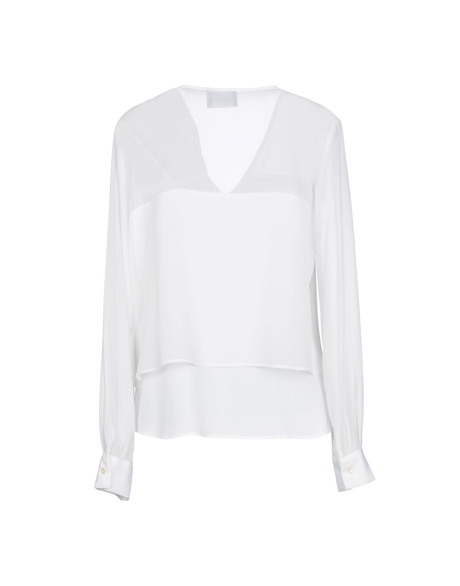 Atos Lombardini White Crepe Shirt