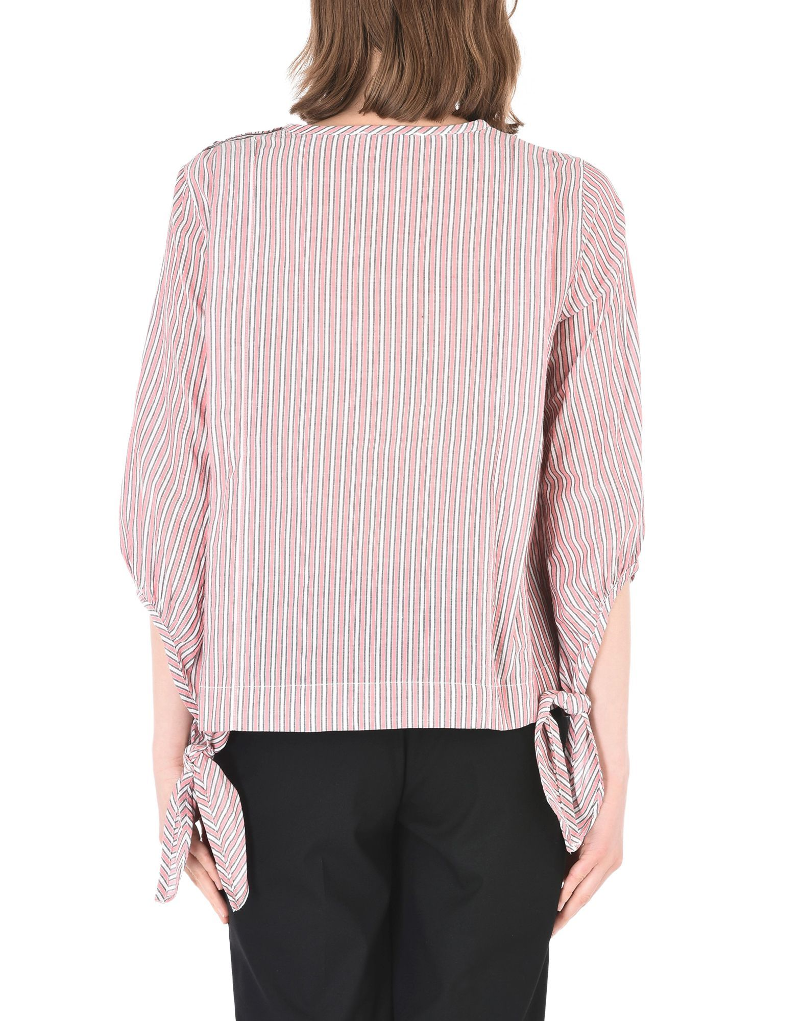 SHIRTS Maison Scotch Pink Woman Cotton