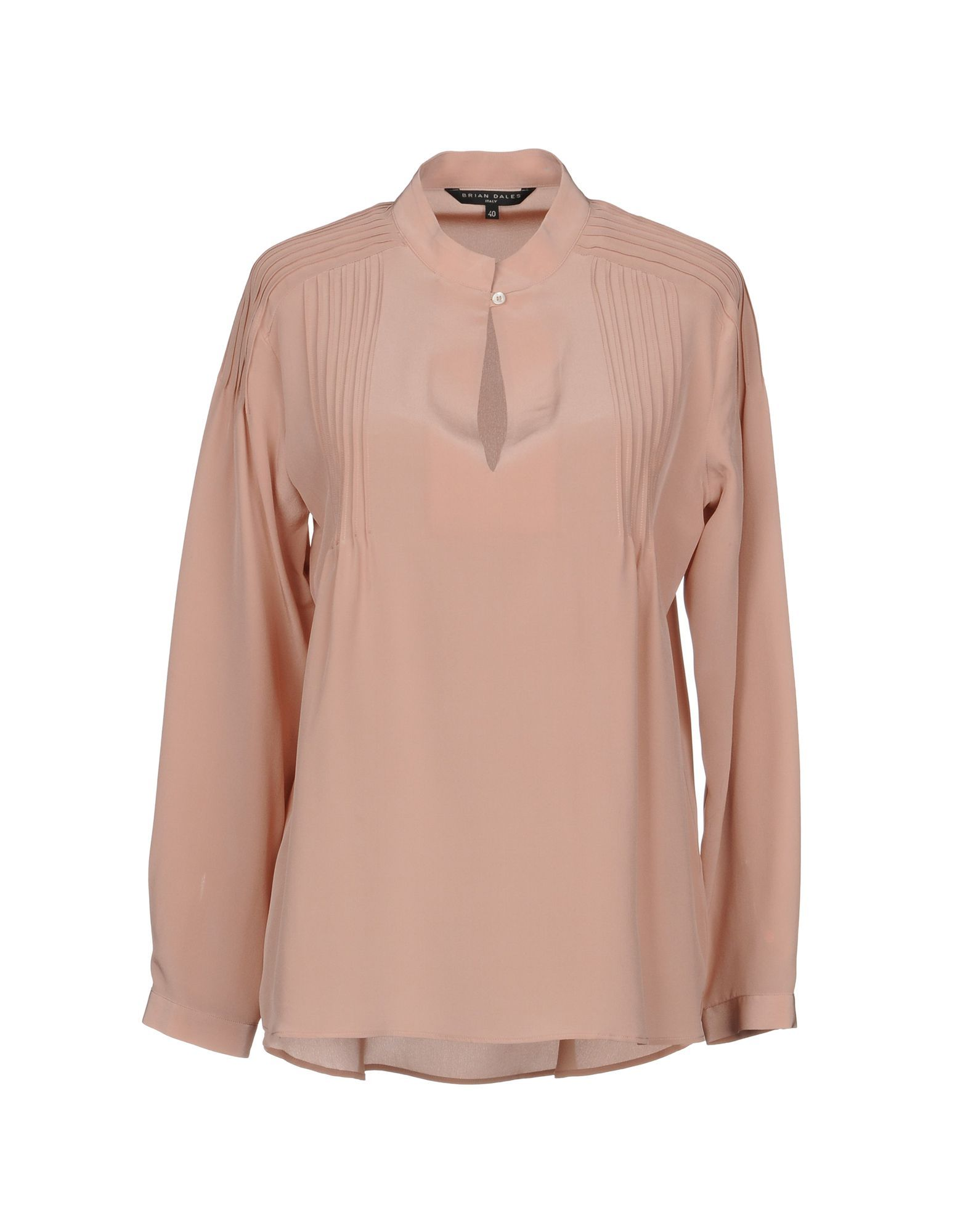 Brian Dales Pale Pink Silk Blouse