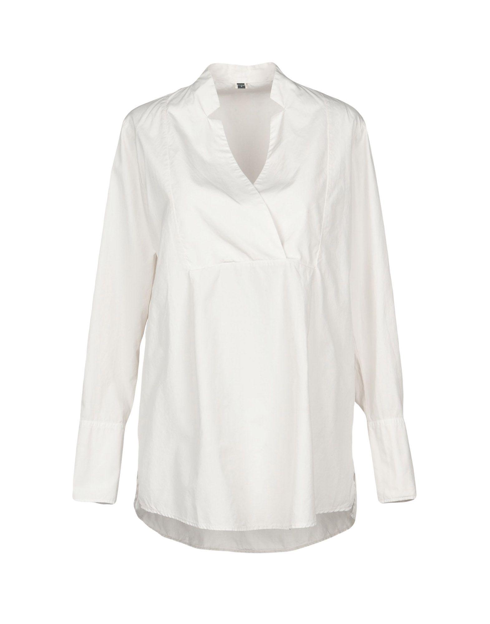 European Culture Light Grey Cotton Shirt