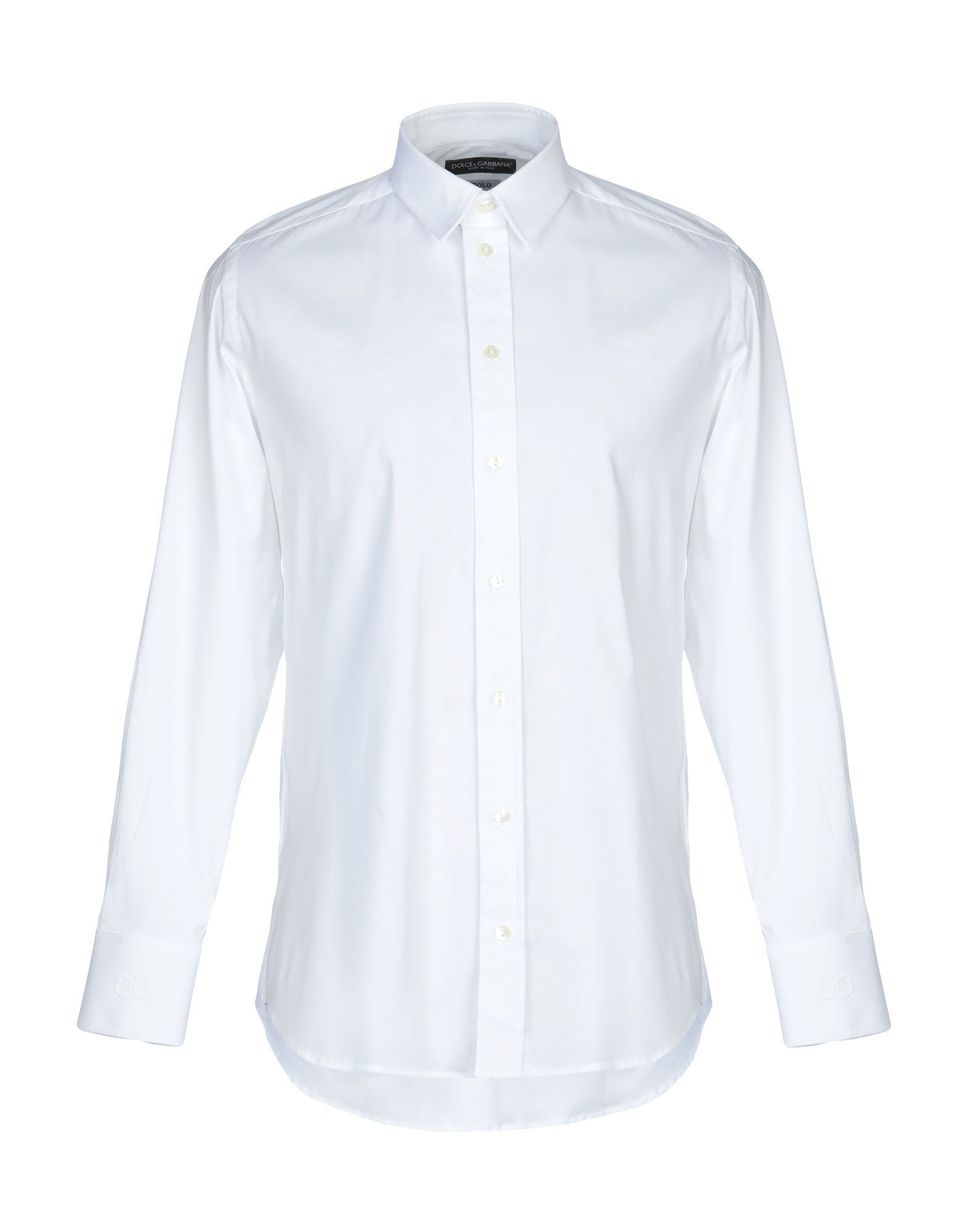 Dolce & Gabbana White Cotton Shirt