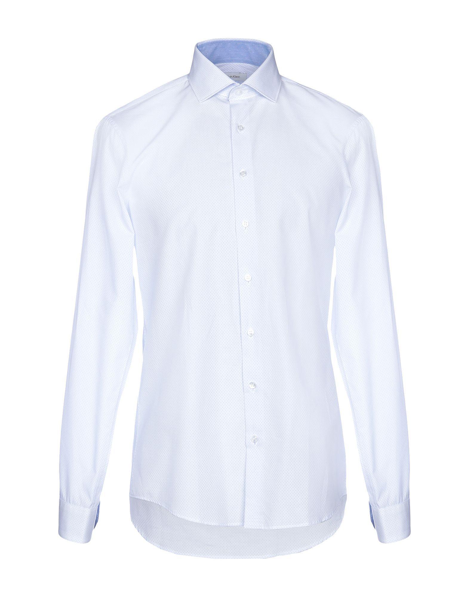 Calvin Klein Sky Blue Cotton Shirt