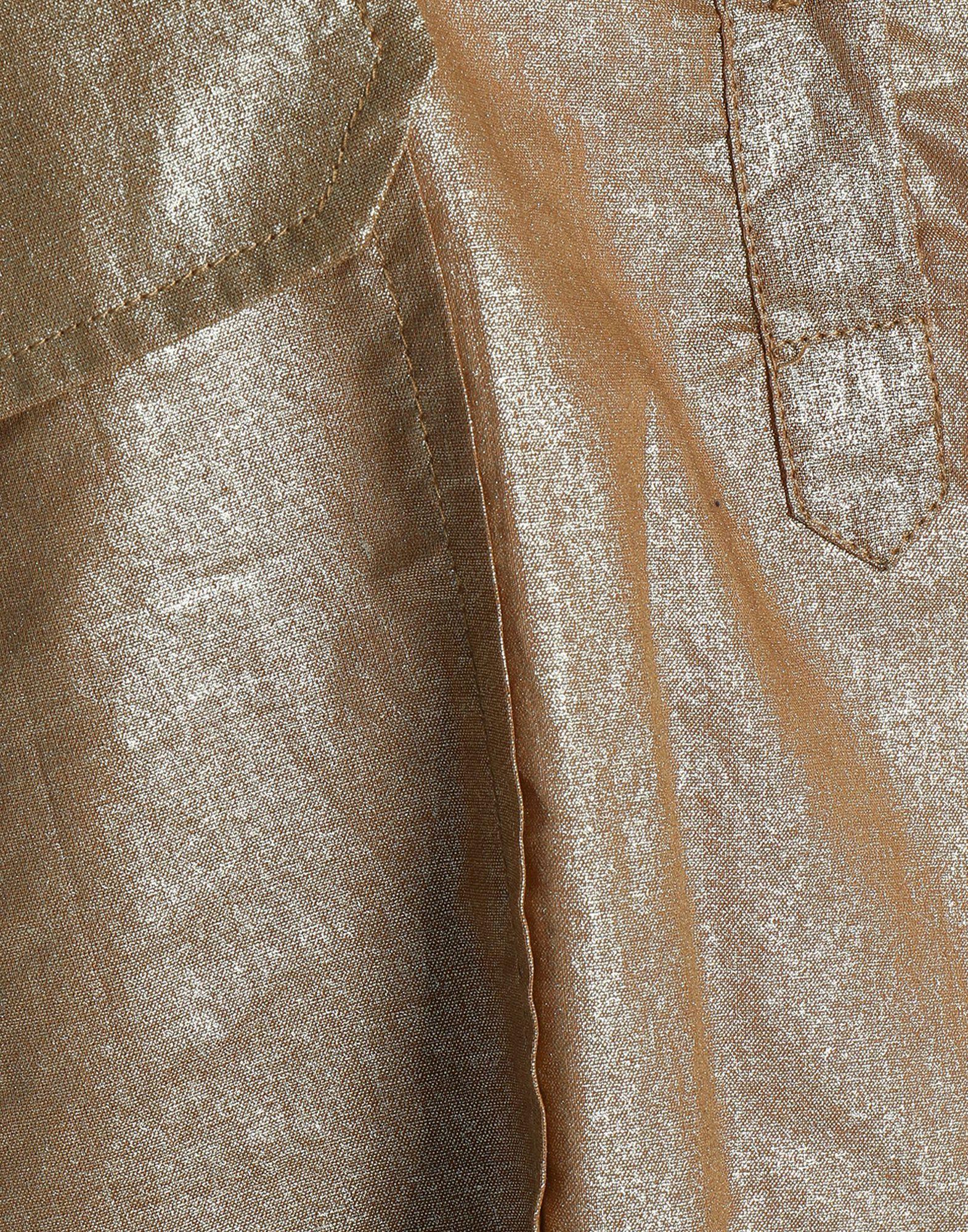 Antik Batik Khaki Laminated Effect Cotton Shirt