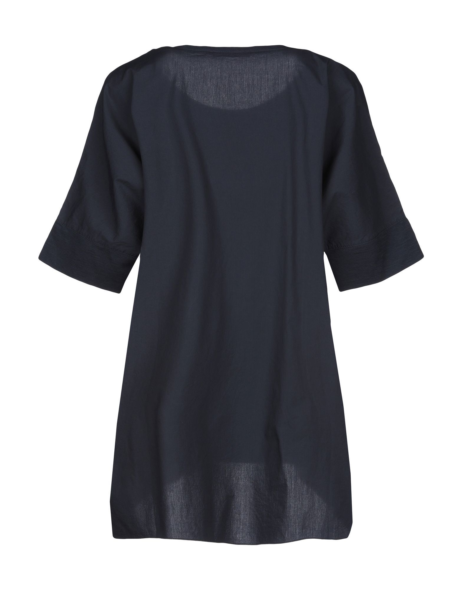 SHIRTS Roberto Collina Dark blue Woman Cotton