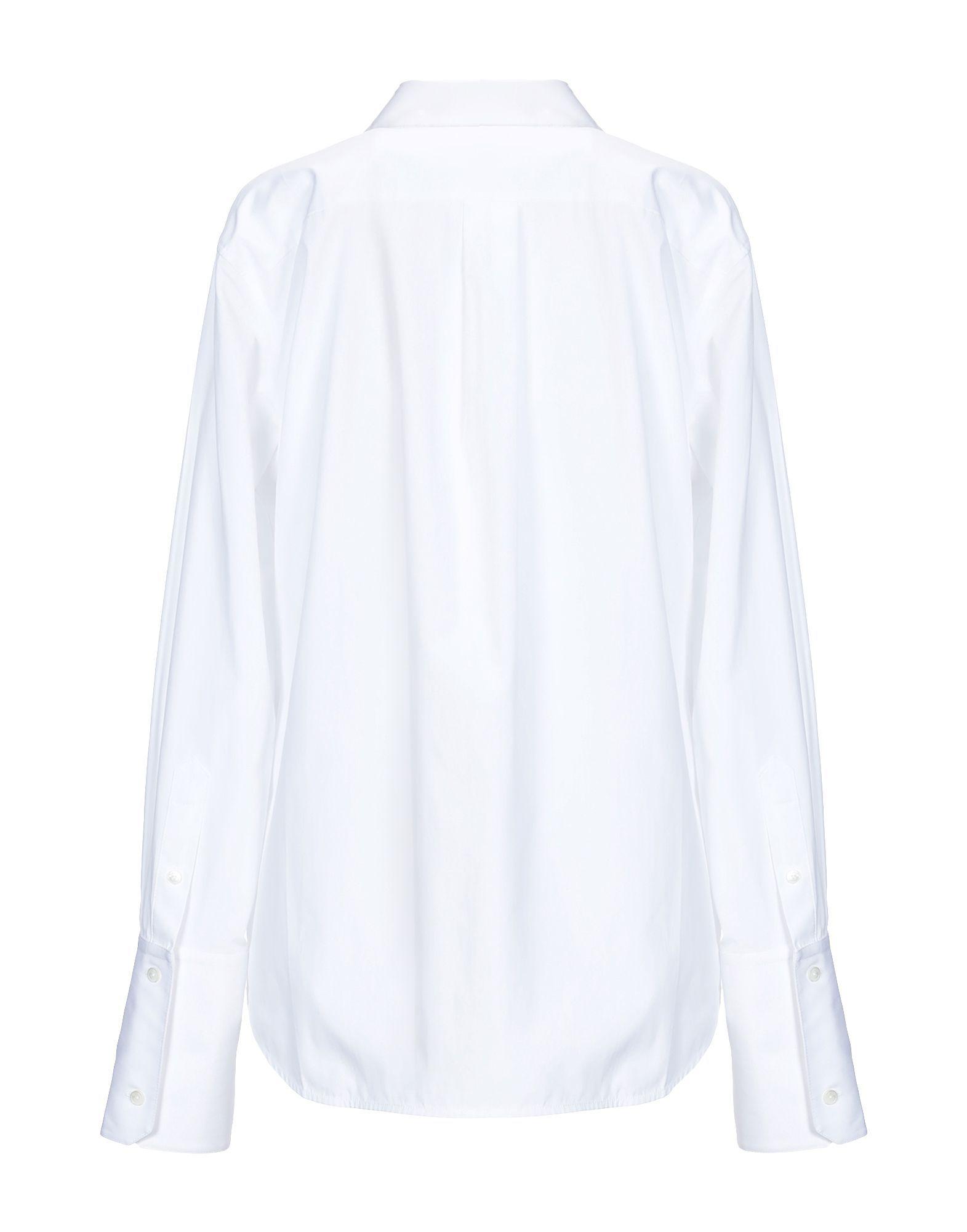 Helmut Lang White Cotton Shirt