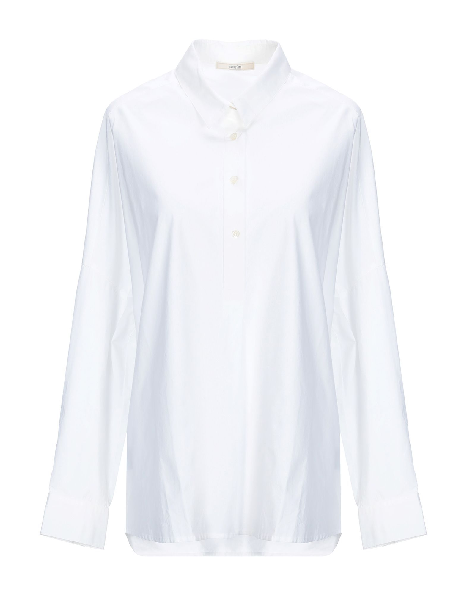 Sessun White Cotton Shirt