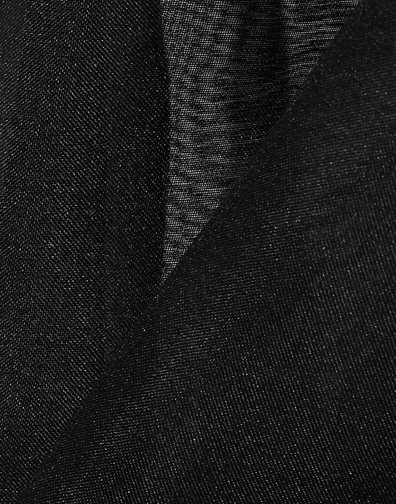 Bassike Black Silk Organza Blouse