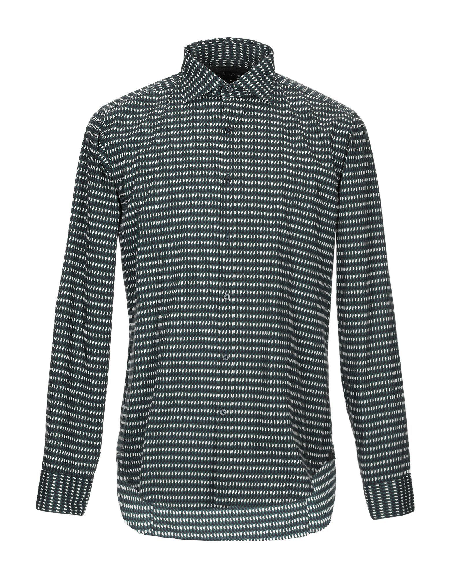 Messagerie Dark Green Cotton Shirt
