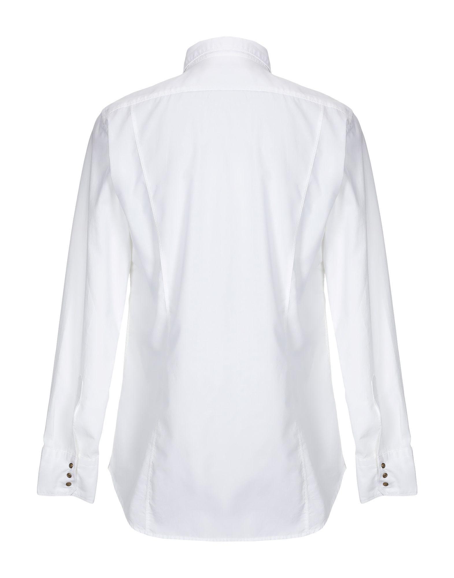 Messagerie White Cotton Shirt