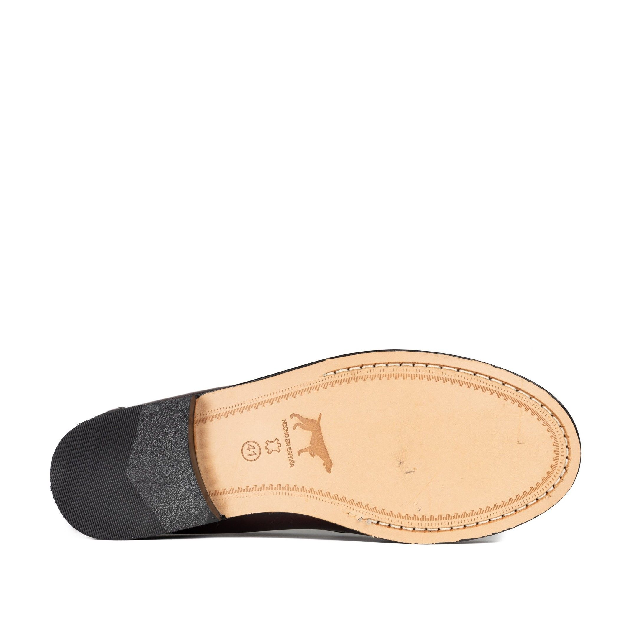 MOCASSIN WITH ANTIFACE