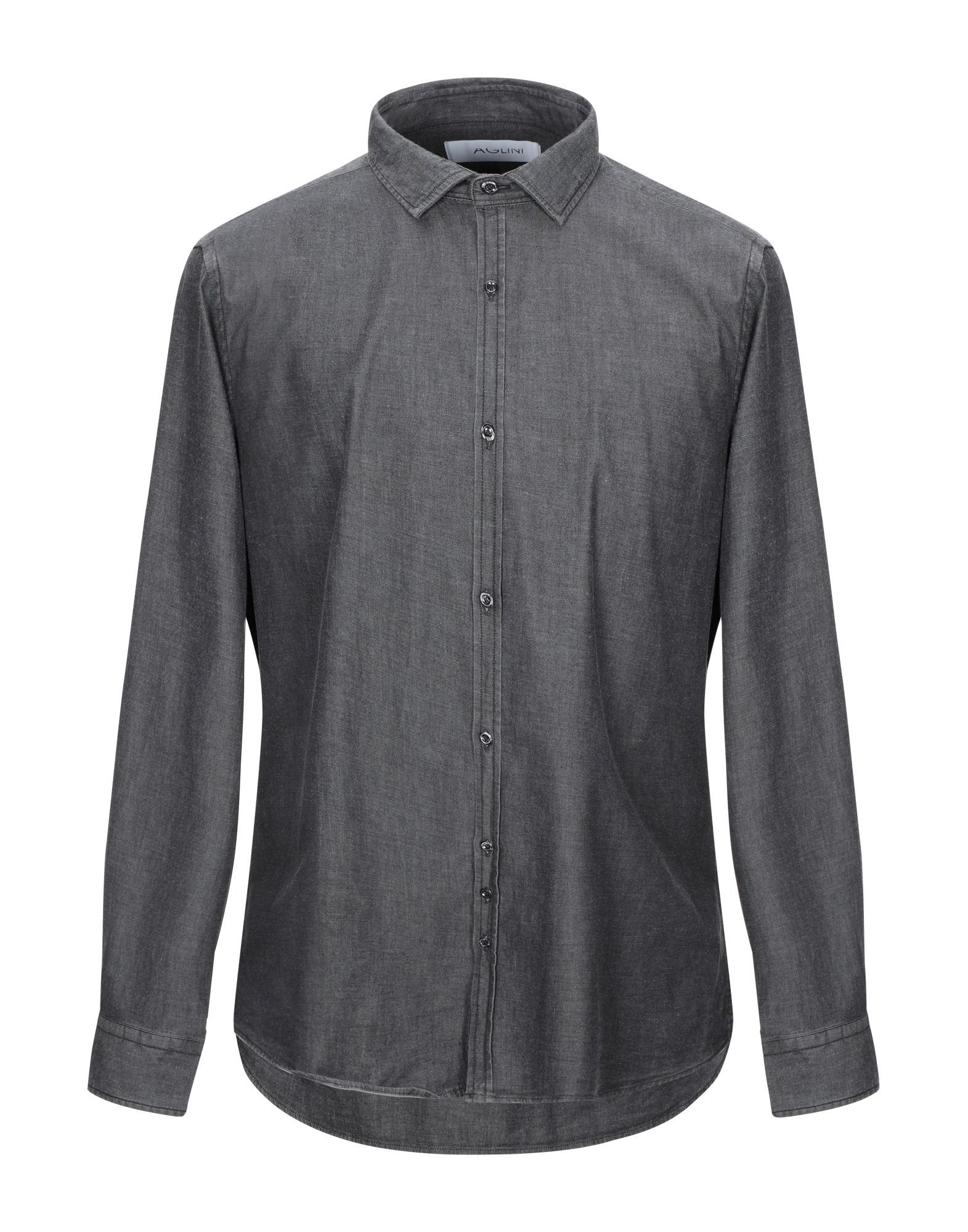 DENIM Aglini Steel grey Man Cotton