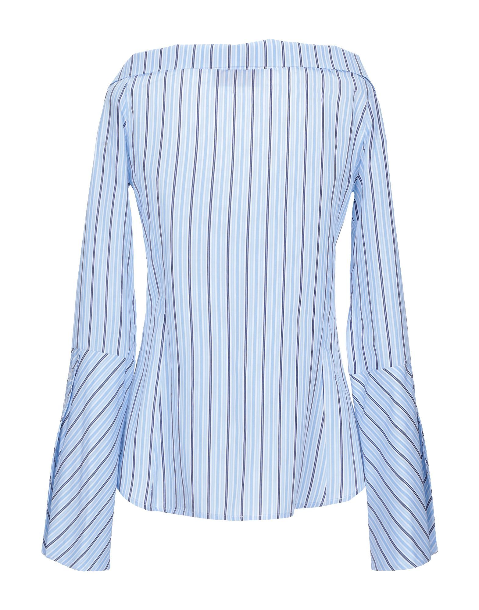 Kaos Jeans Sky Blue Cotton Shirt