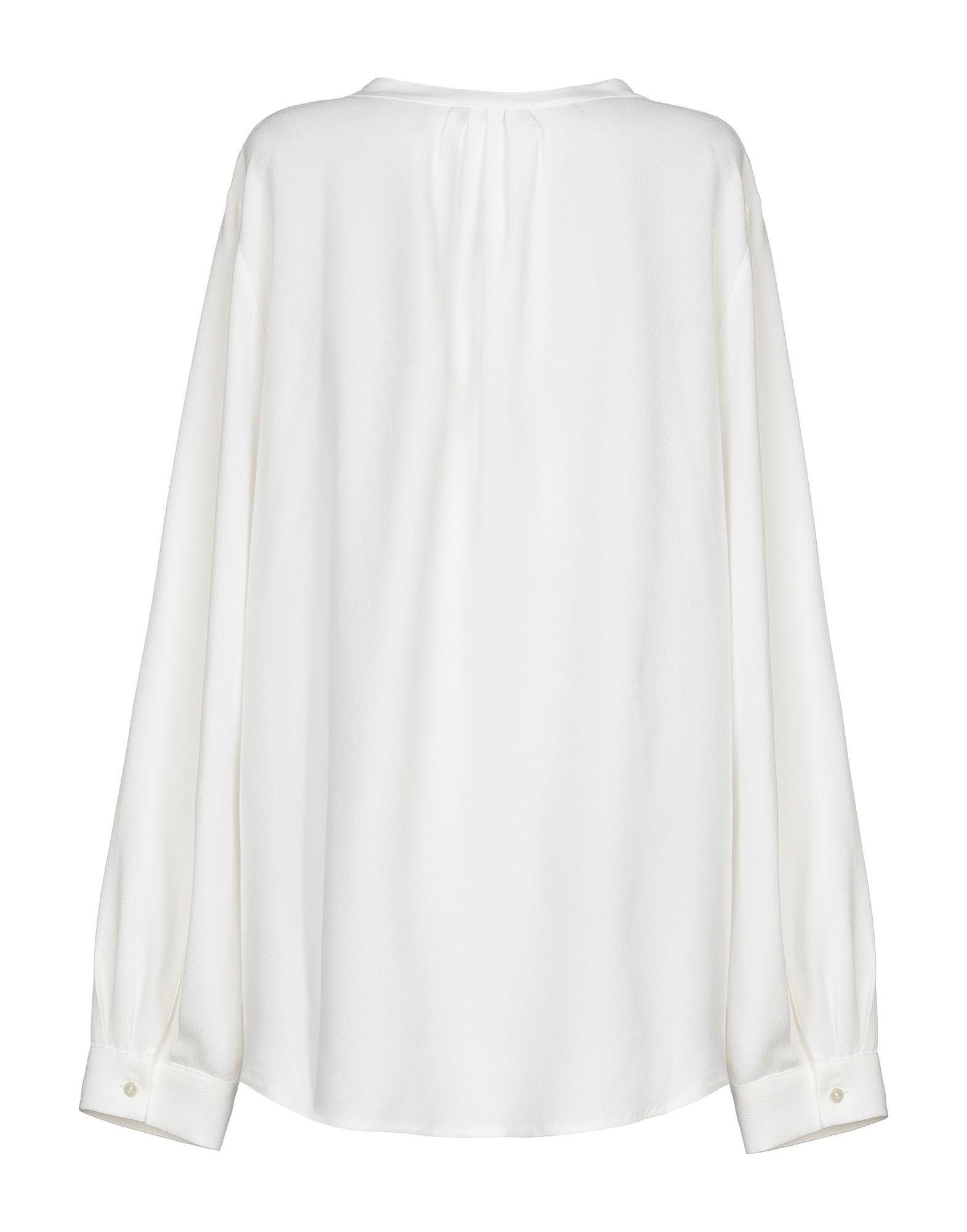 Antonelli White Silk Blouse