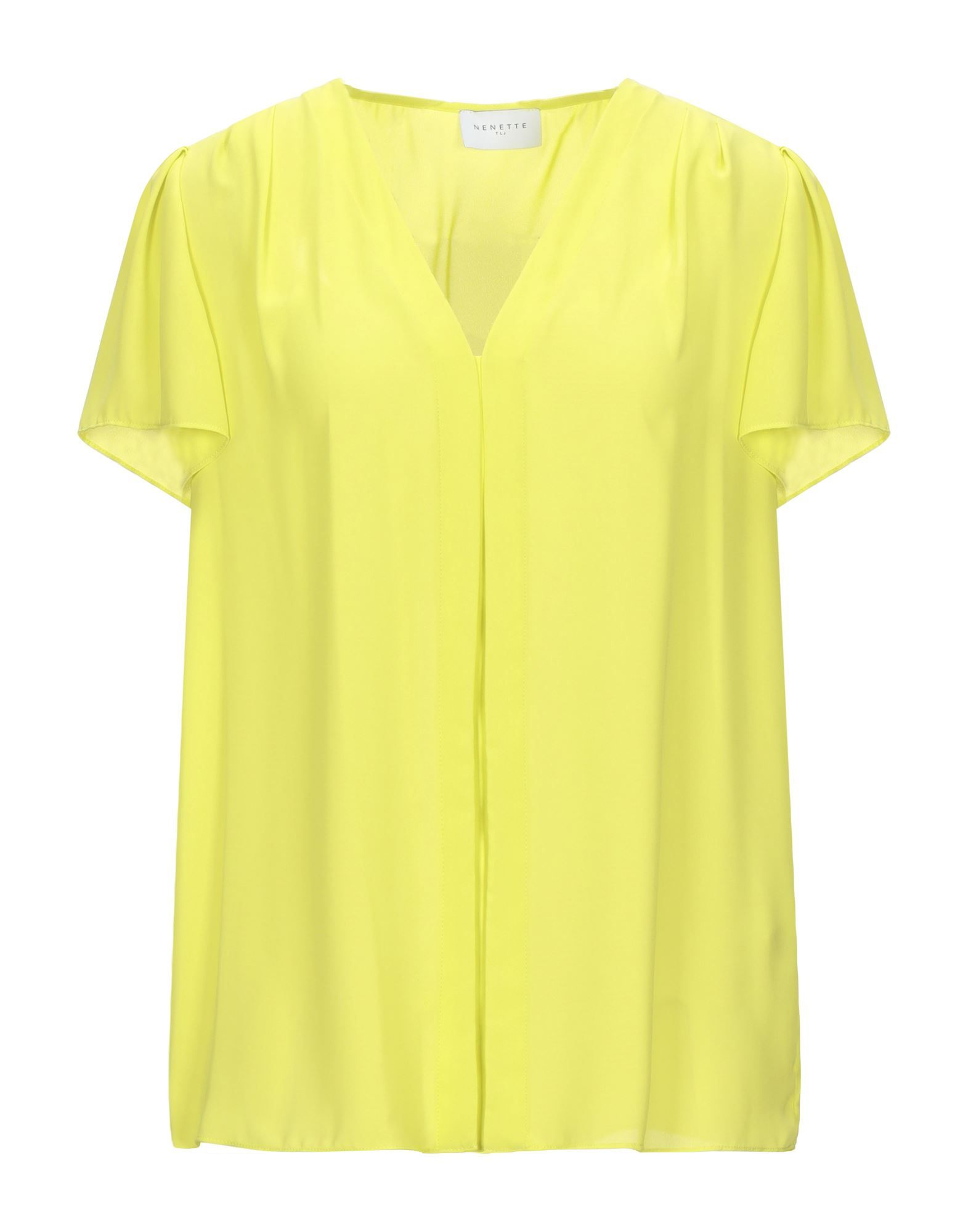 Nenette Woman Blouses Yellow Polyester