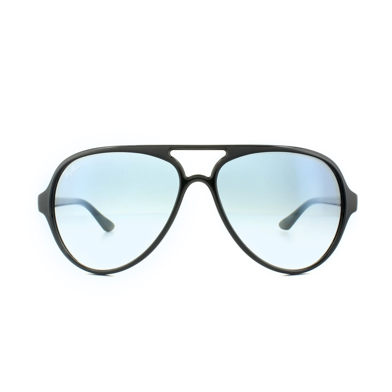 Ray-Ban Sunglasses Cats 5000 4125 601/3F Black Light Blue Gradient
