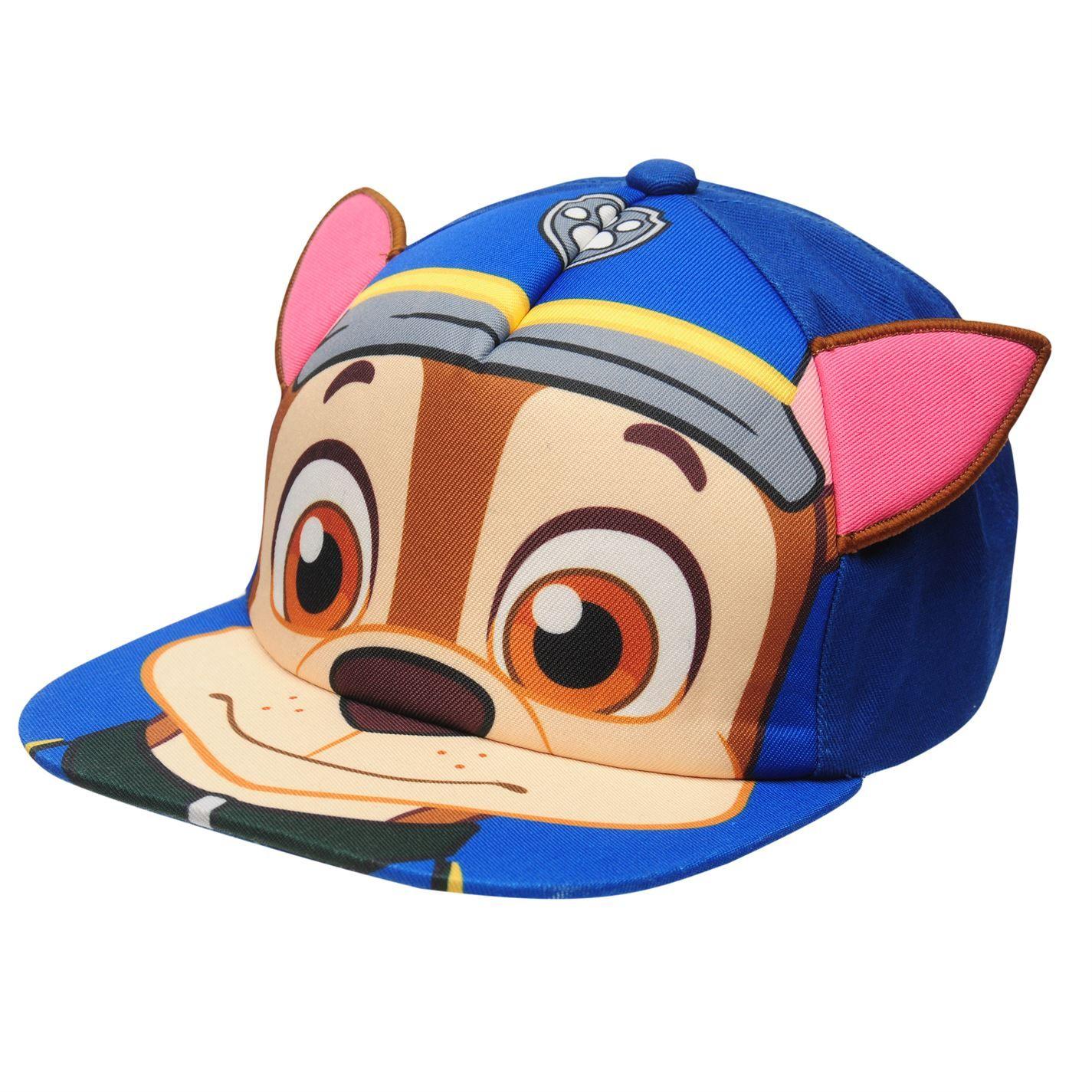 Character Kids Flat Peak Cap Hat Ventilation Holes Baseball Cap