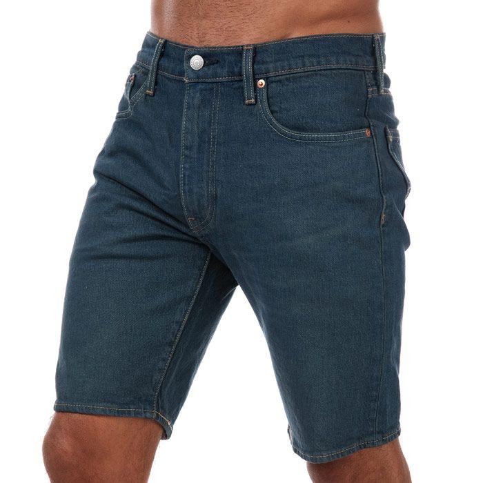 Men's Levi's 412 Sunset Slim Shorts In Denim