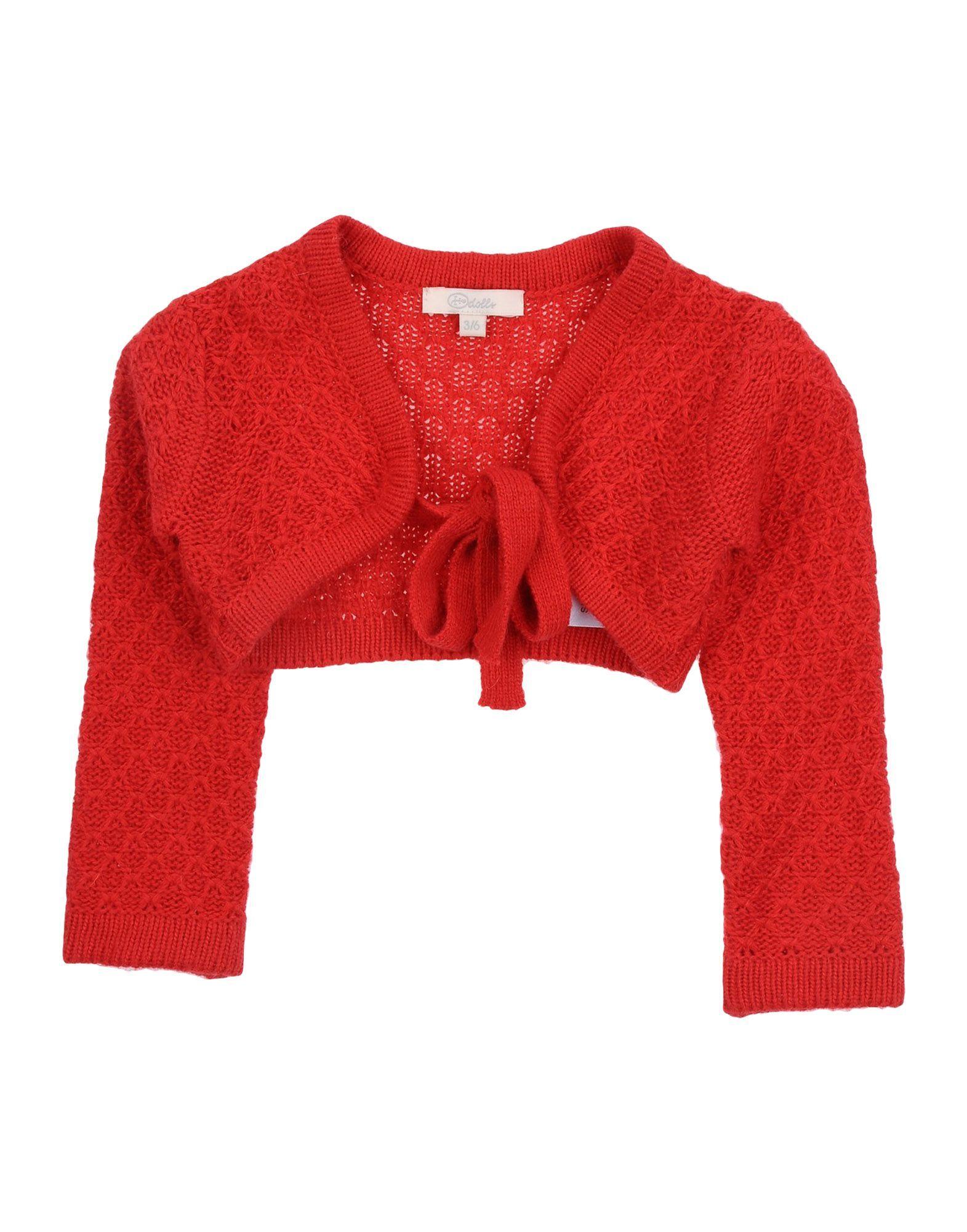 Heach Dolls By Silvian Heach Girl Cardigans Red Nylon