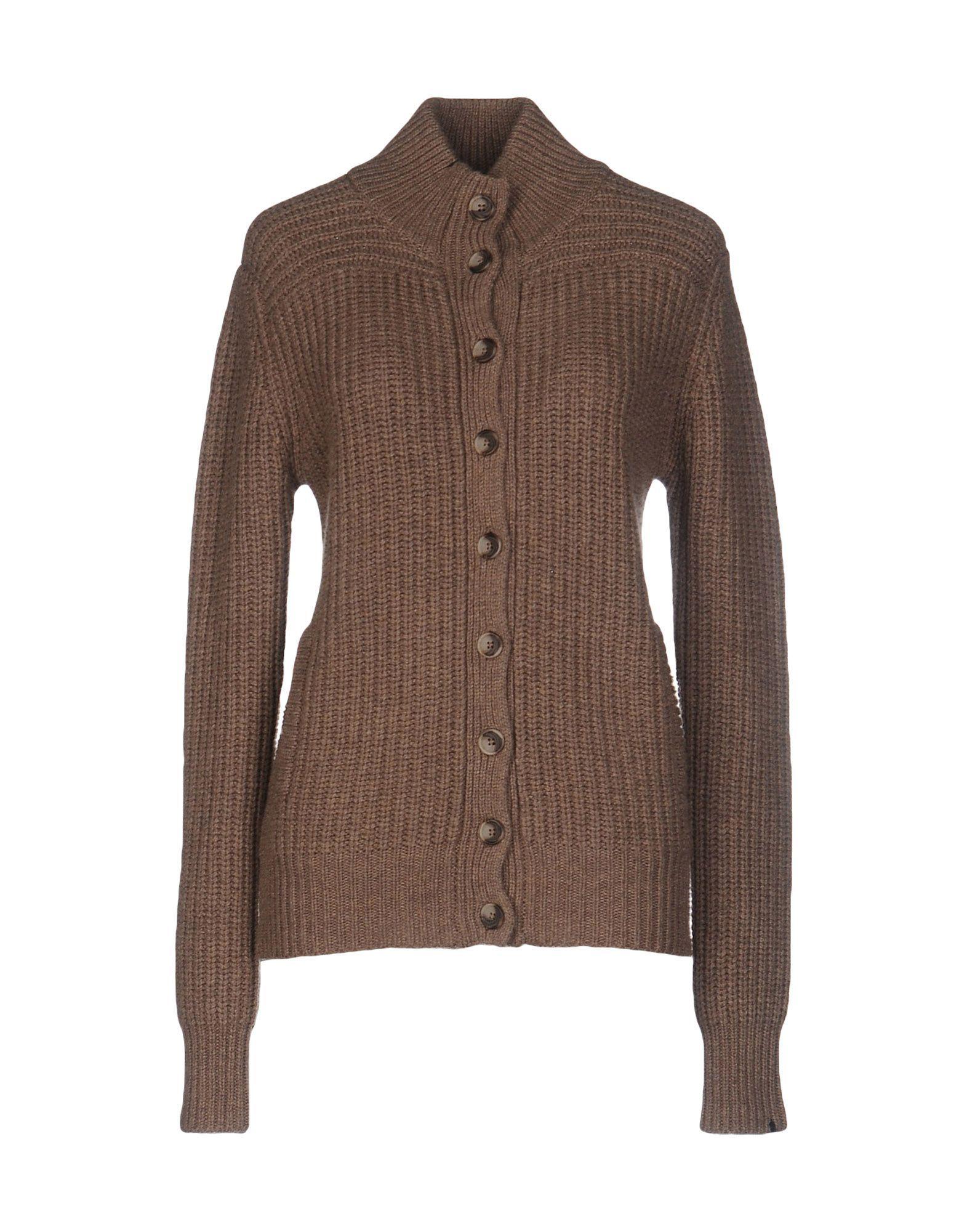 Knitwear Sun 68 Khaki Women's Wool