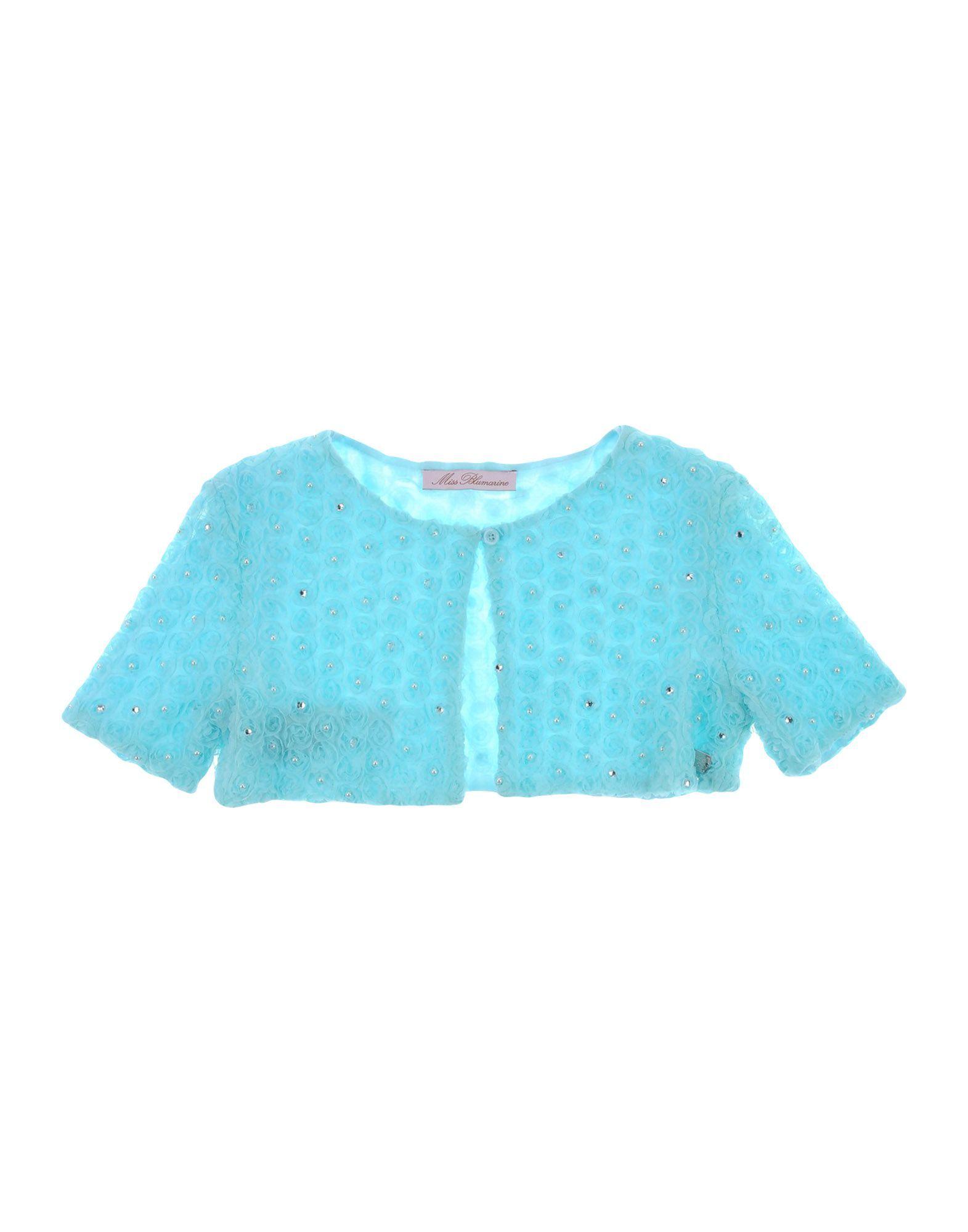 KNITWEAR Miss Blumarine Turquoise Girl Polyester