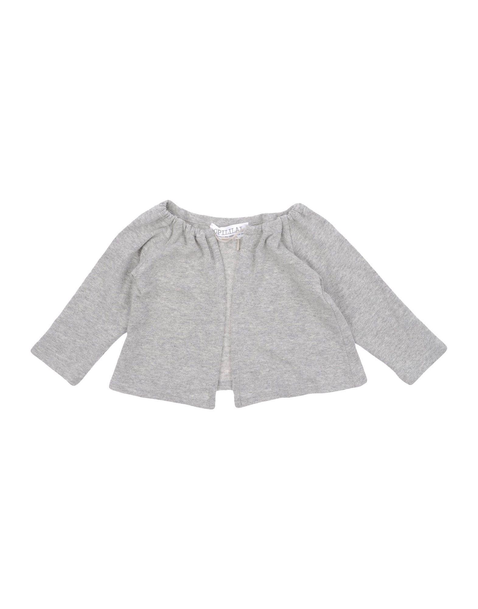KNITWEAR Opililai Grey Girl Cotton