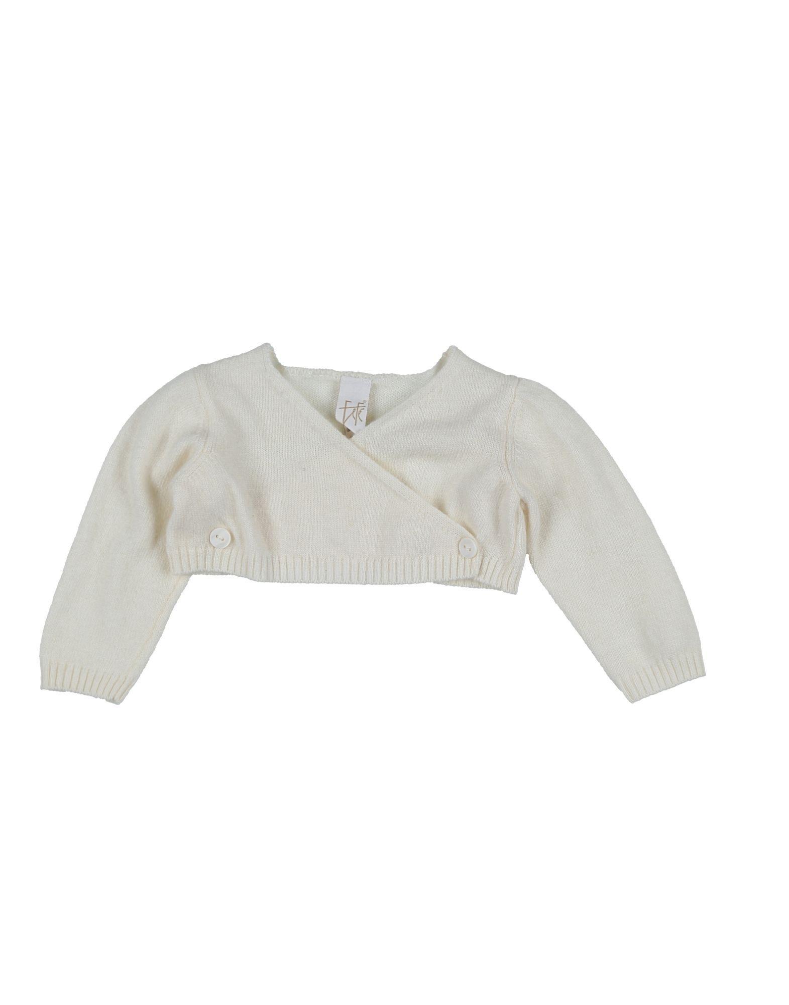 KNITWEAR Fef� Ivory Girl Merinos Wool