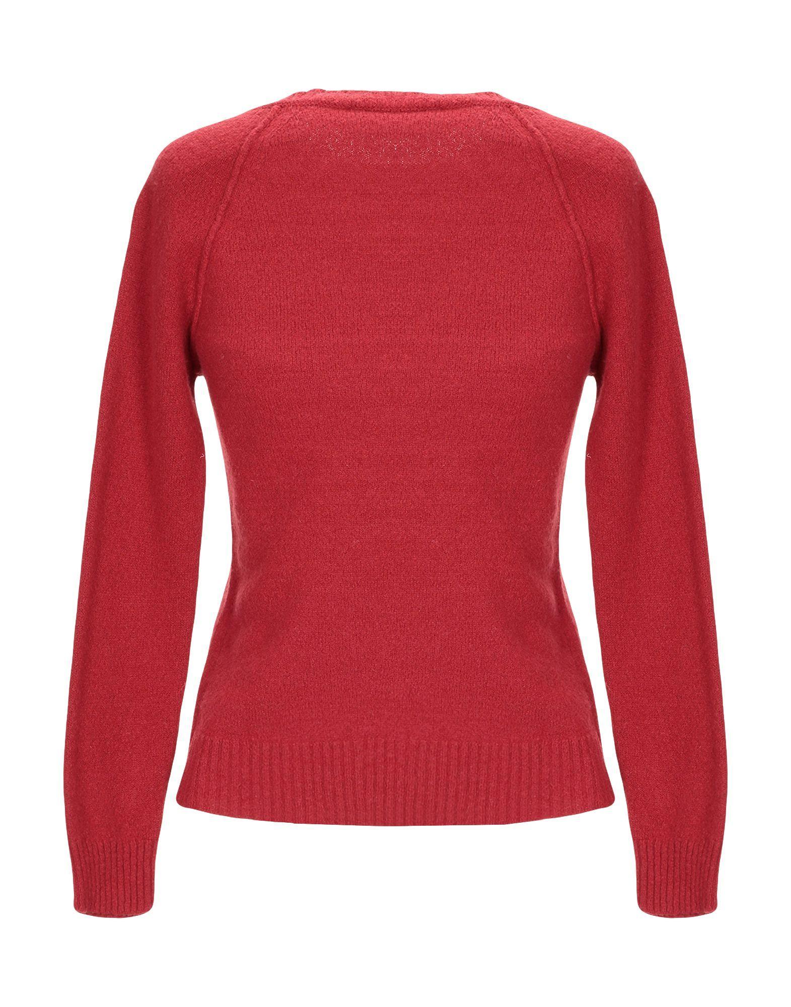 Jucca Brick Red Wool Jumper