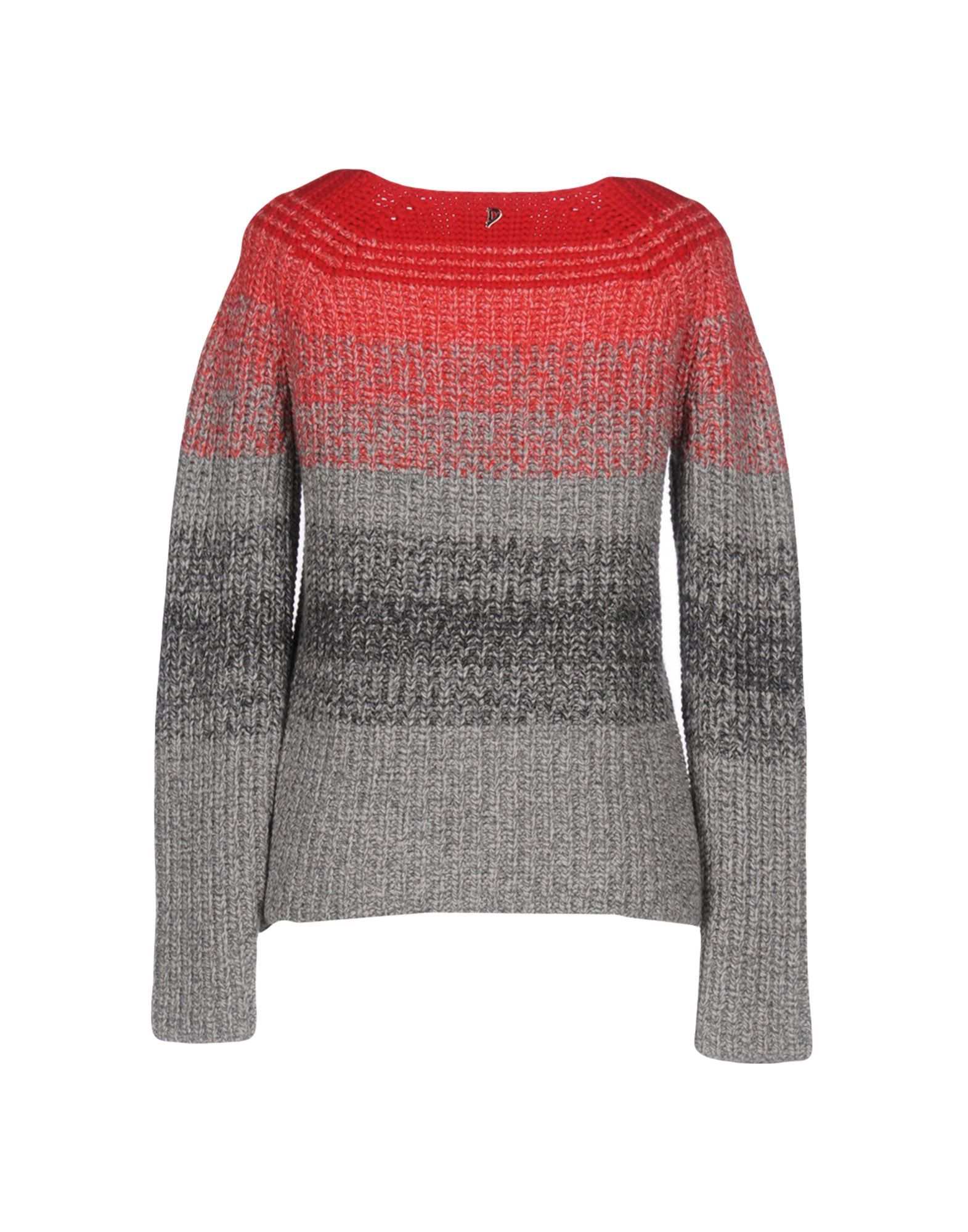 Dondup Grey Wool Jumper